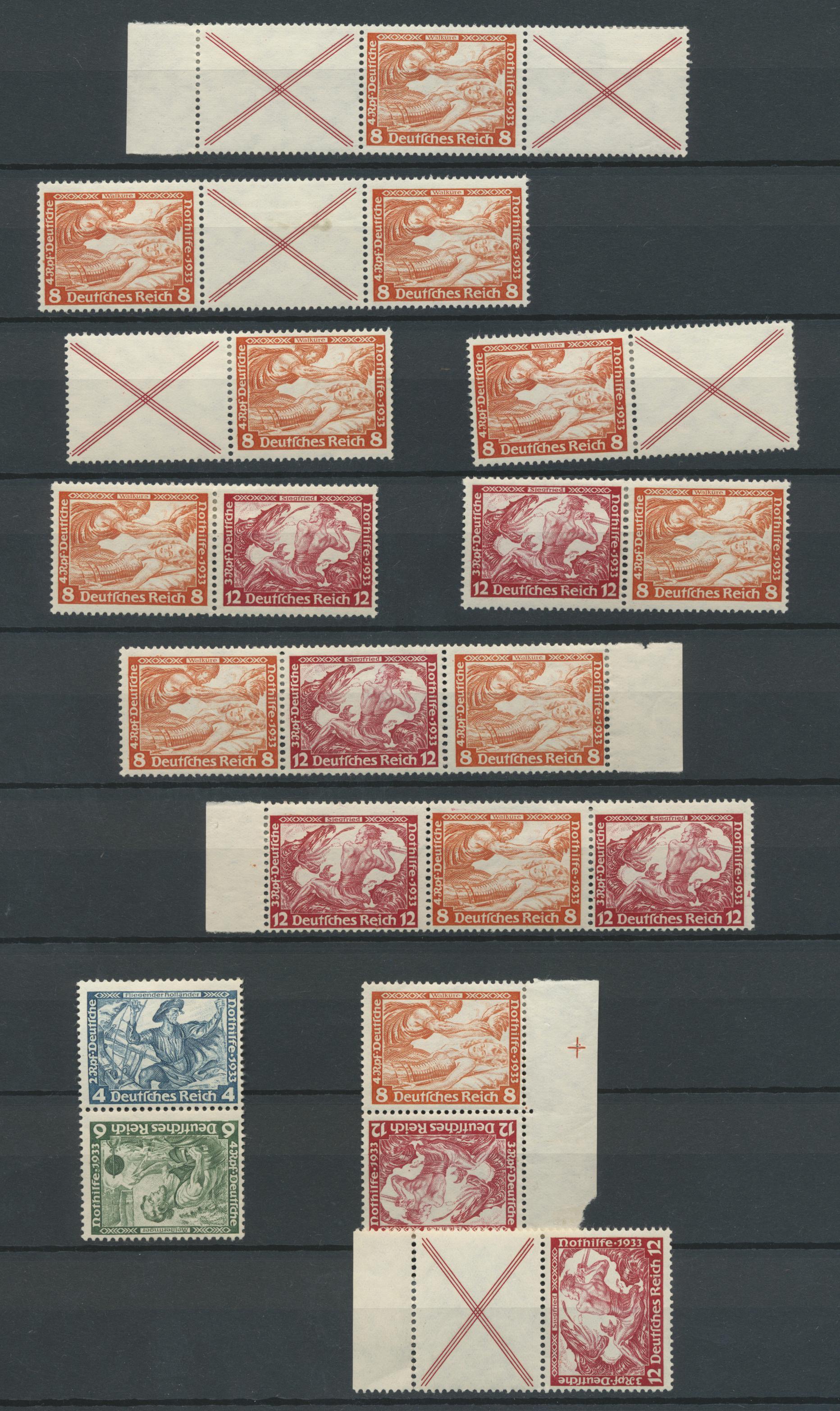 Lot 31681 - Deutsches Reich - Markenheftchenblätter  -  Auktionshaus Christoph Gärtner GmbH & Co. KG Auction #40 Collections Germany, Wunderkartons