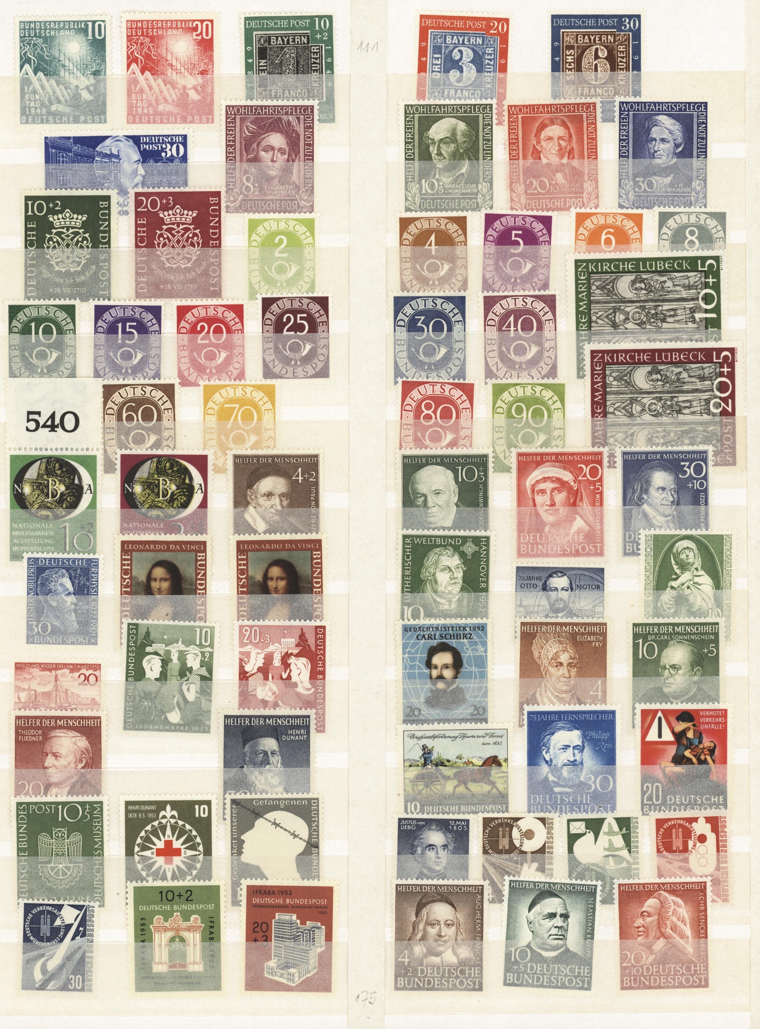 Lot 37416 - bundesrepublik und berlin  -  Auktionshaus Christoph Gärtner GmbH & Co. KG Sale #44 Collections Germany