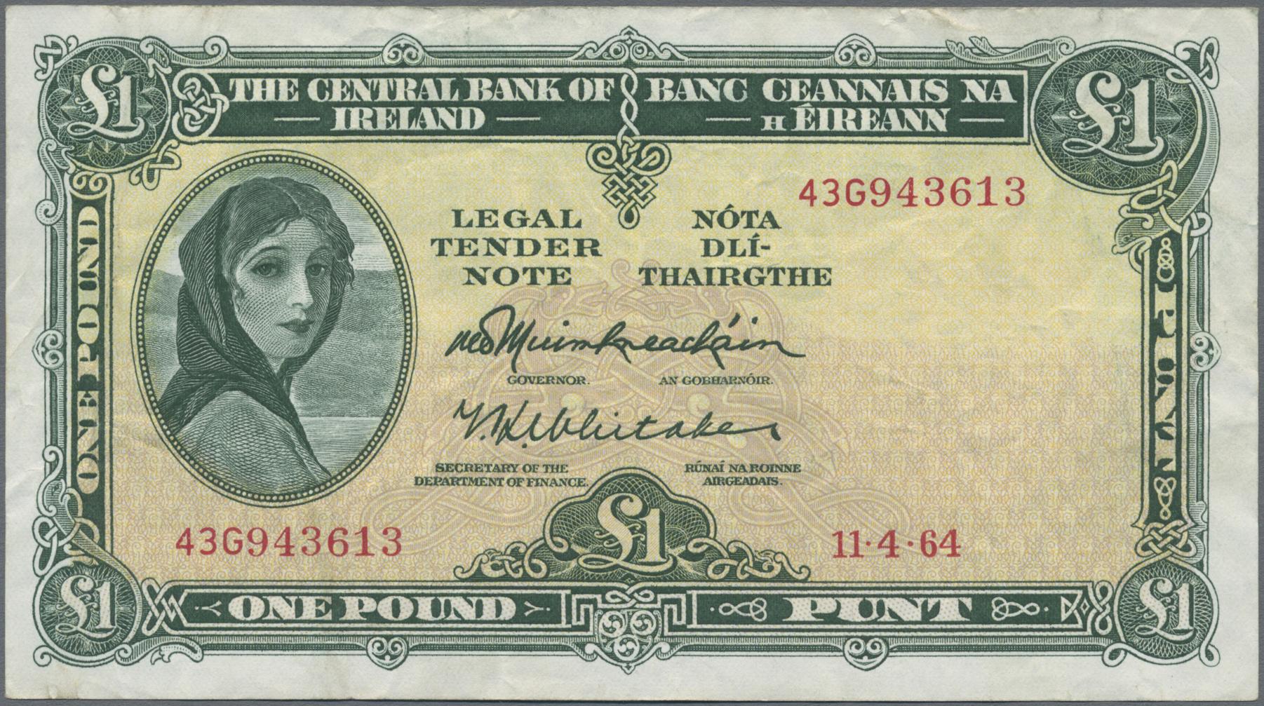 Lot 01149 - Alle Welt | Banknoten  -  Auktionshaus Christoph Gärtner GmbH & Co. KG Sale #48 The Banknotes