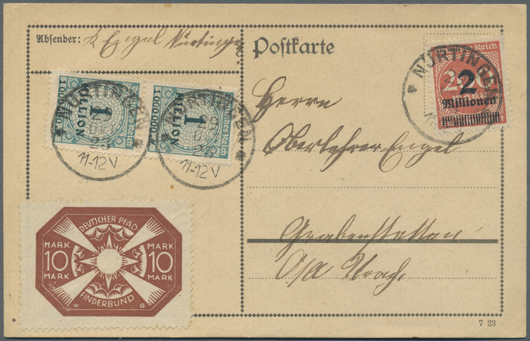 Lot 11924 - thematik: pfadfinder / boy scouts  -  Auktionshaus Christoph Gärtner GmbH & Co. KG Single lots Philately Overseas & Europe. Auction #39 Day 4