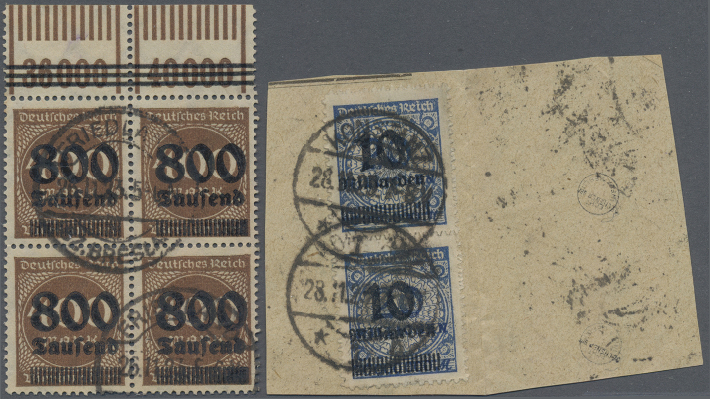 Lot 36615 - Deutsches Reich - Inflation  -  Auktionshaus Christoph Gärtner GmbH & Co. KG Sale #44 Collections Germany