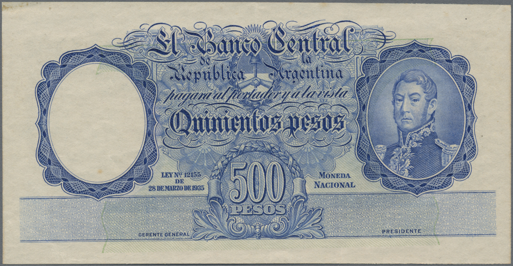 Lot 00012 - Argentina / Argentinien | Banknoten  -  Auktionshaus Christoph Gärtner GmbH & Co. KG 51th Auction - Day 1