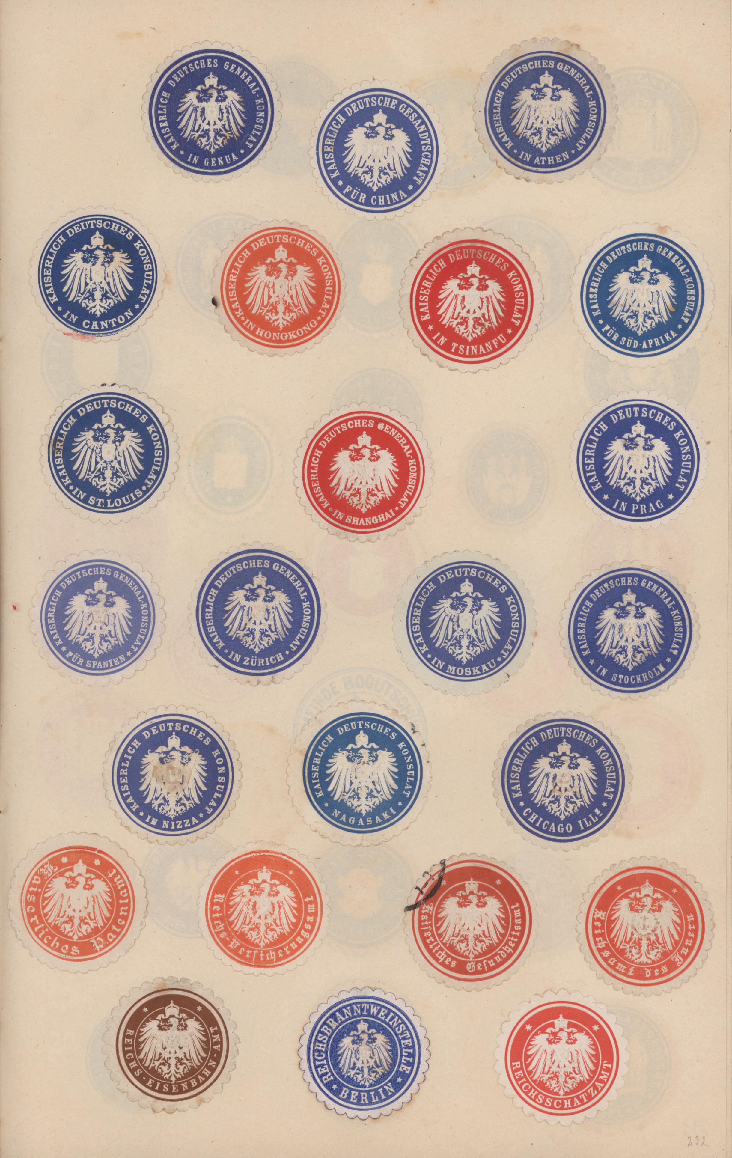 Lot 21731 - vignetten  -  Auktionshaus Christoph Gärtner GmbH & Co. KG Sale #48 Estates, supplement Germany before & after 1945