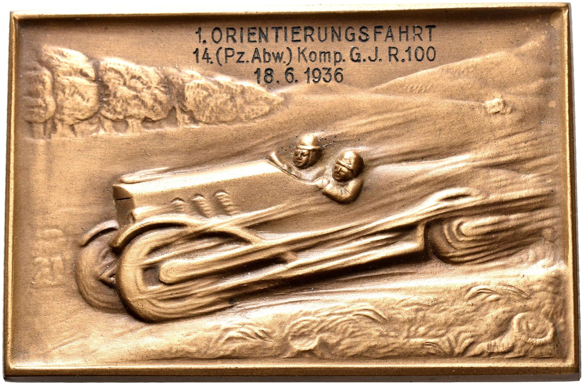 Lot 02377 - Medaillen Deutschland | Münzen  -  Auktionshaus Christoph Gärtner GmbH & Co. KG Sale #48 The Coins & The Picture Post Cards