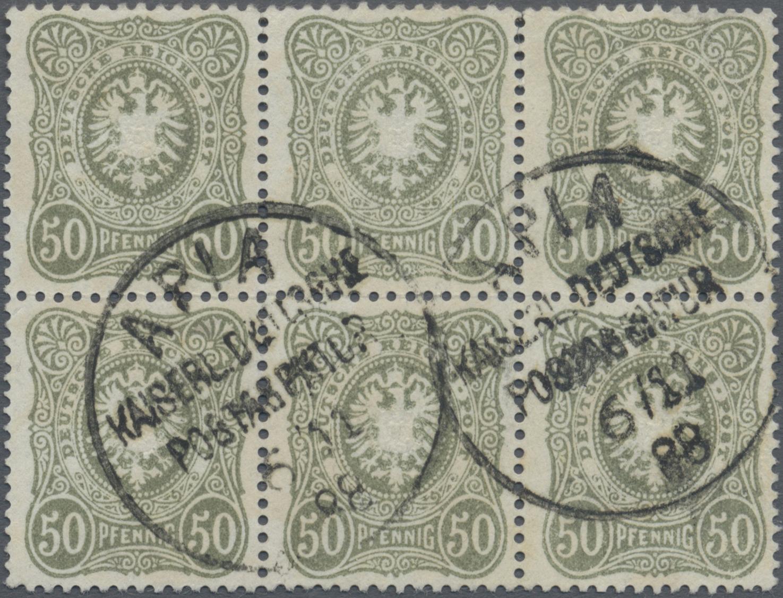 Lot 22859 - Deutsche Kolonien - Samoa - Vorläufer  -  Auktionshaus Christoph Gärtner GmbH & Co. KG Sale #44 Germany, Picture Post cards