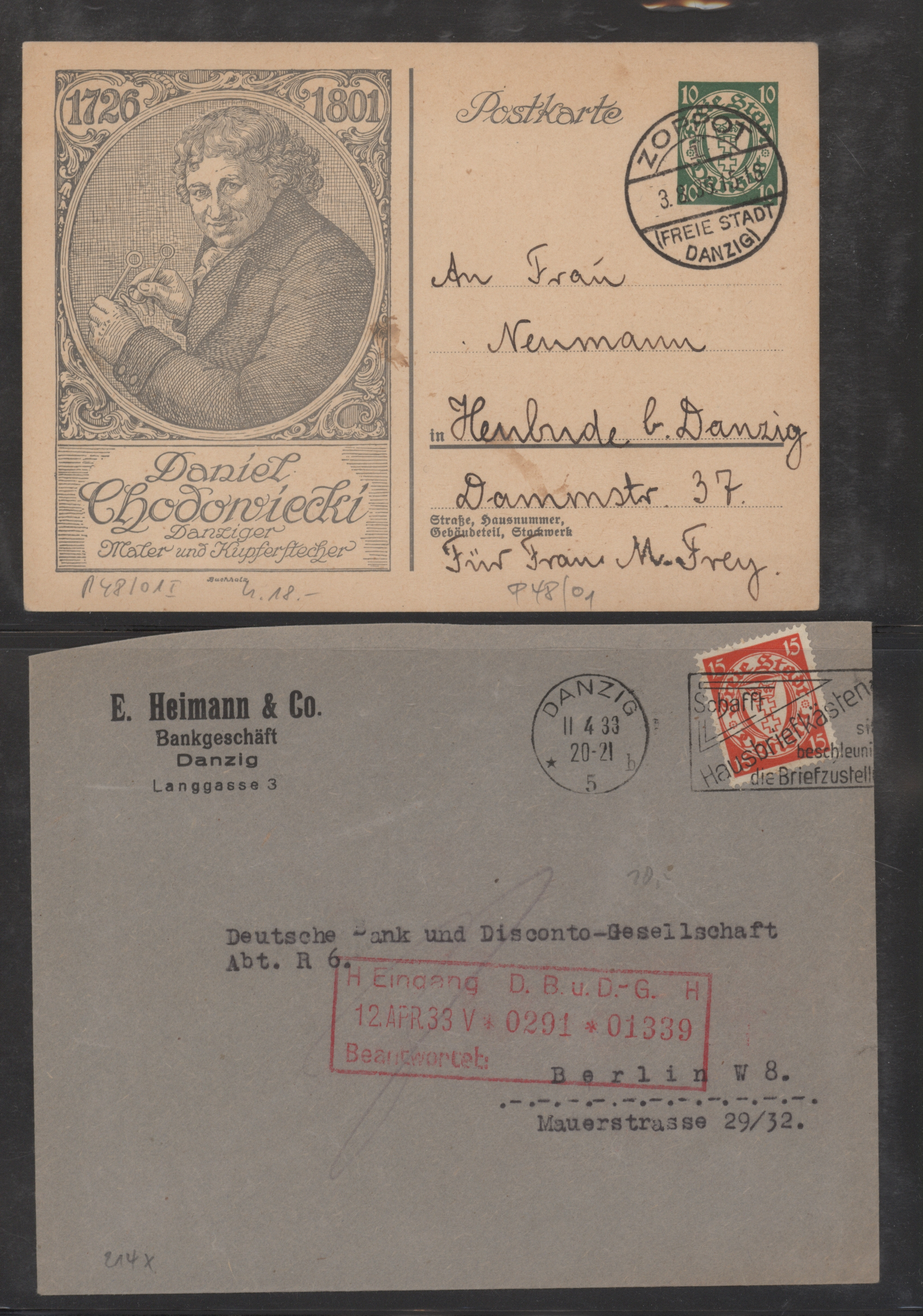 Lot 14787 - danzig  -  Auktionshaus Christoph Gärtner GmbH & Co. KG 51th Auction - Day 5