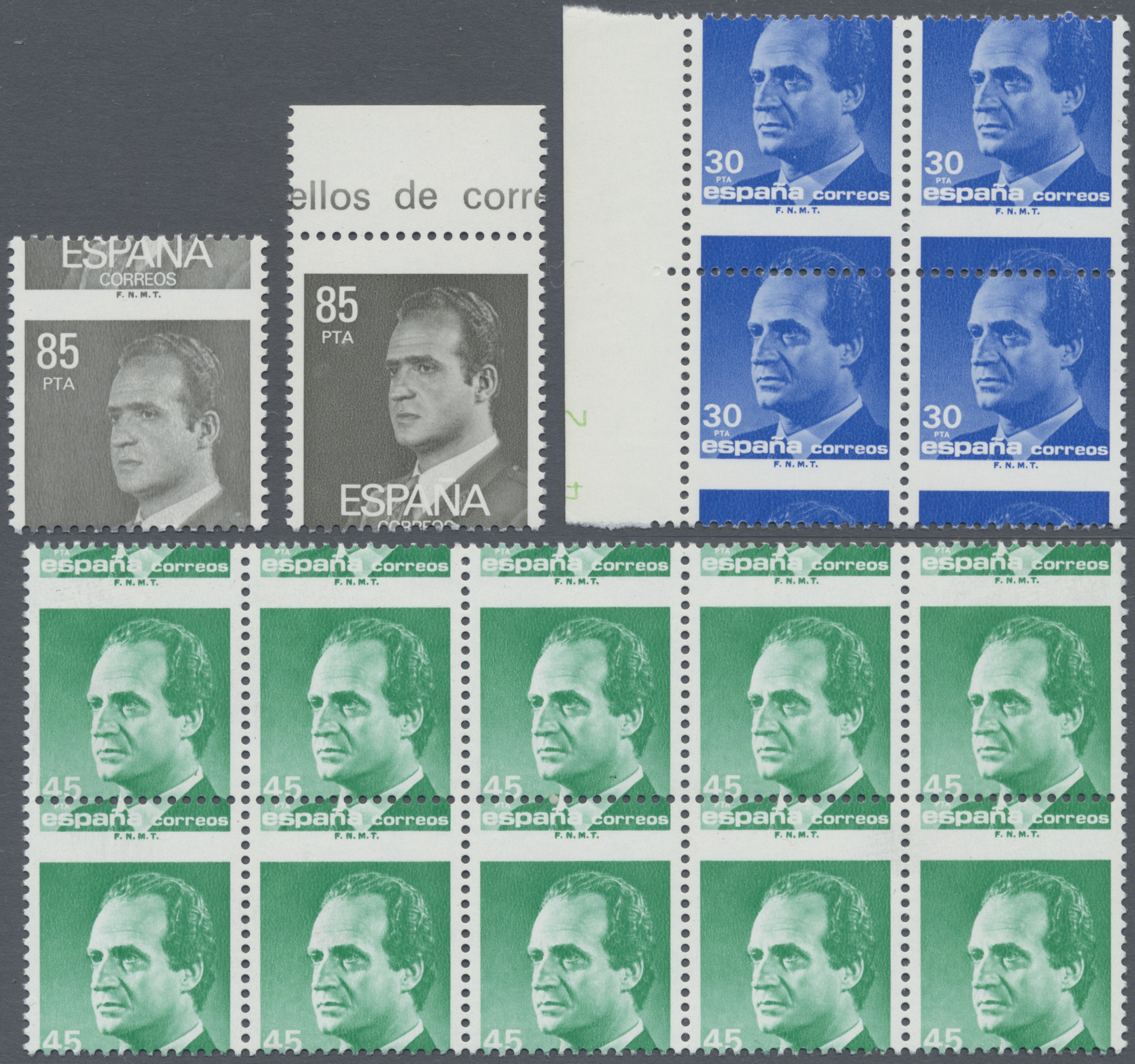 Lot 19264 - spanien  -  Auktionshaus Christoph Gärtner GmbH & Co. KG Sale #48 collections Overseas  Airmail / Ship mail & Thematics