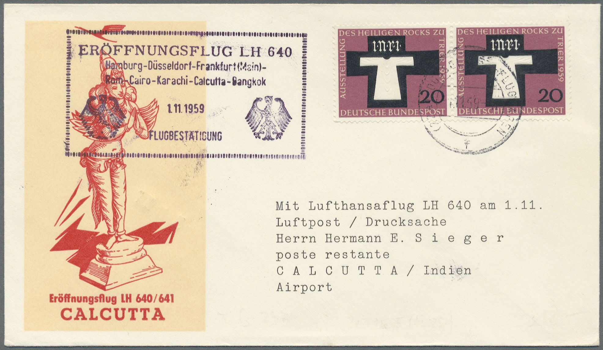 Lot 06213 - Thematik: Flugzeuge, Luftfahrt / airoplanes, aviation  -  Auktionshaus Christoph Gärtner GmbH & Co. KG Special Auction 26.- 28. May 2020 Day 3 Collections - Thematics and Picture Post Cards