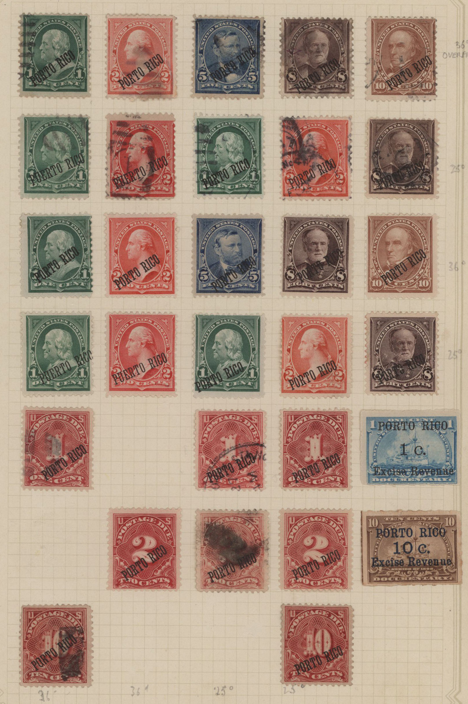 Lot 16933 - Puerto Rico  -  Auktionshaus Christoph Gärtner GmbH & Co. KG 50th Auction Anniversary Auction - Day 5