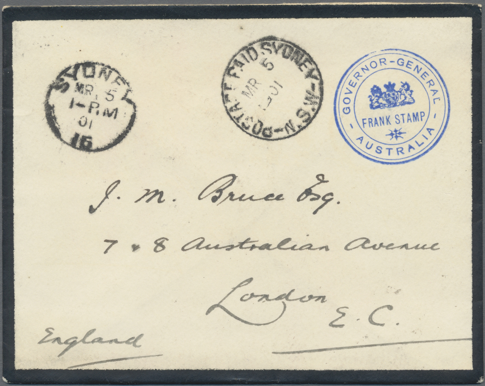 Lot 07746 - neusüdwales  -  Auktionshaus Christoph Gärtner GmbH & Co. KG 50th Auction Anniversary Auction - Day 3