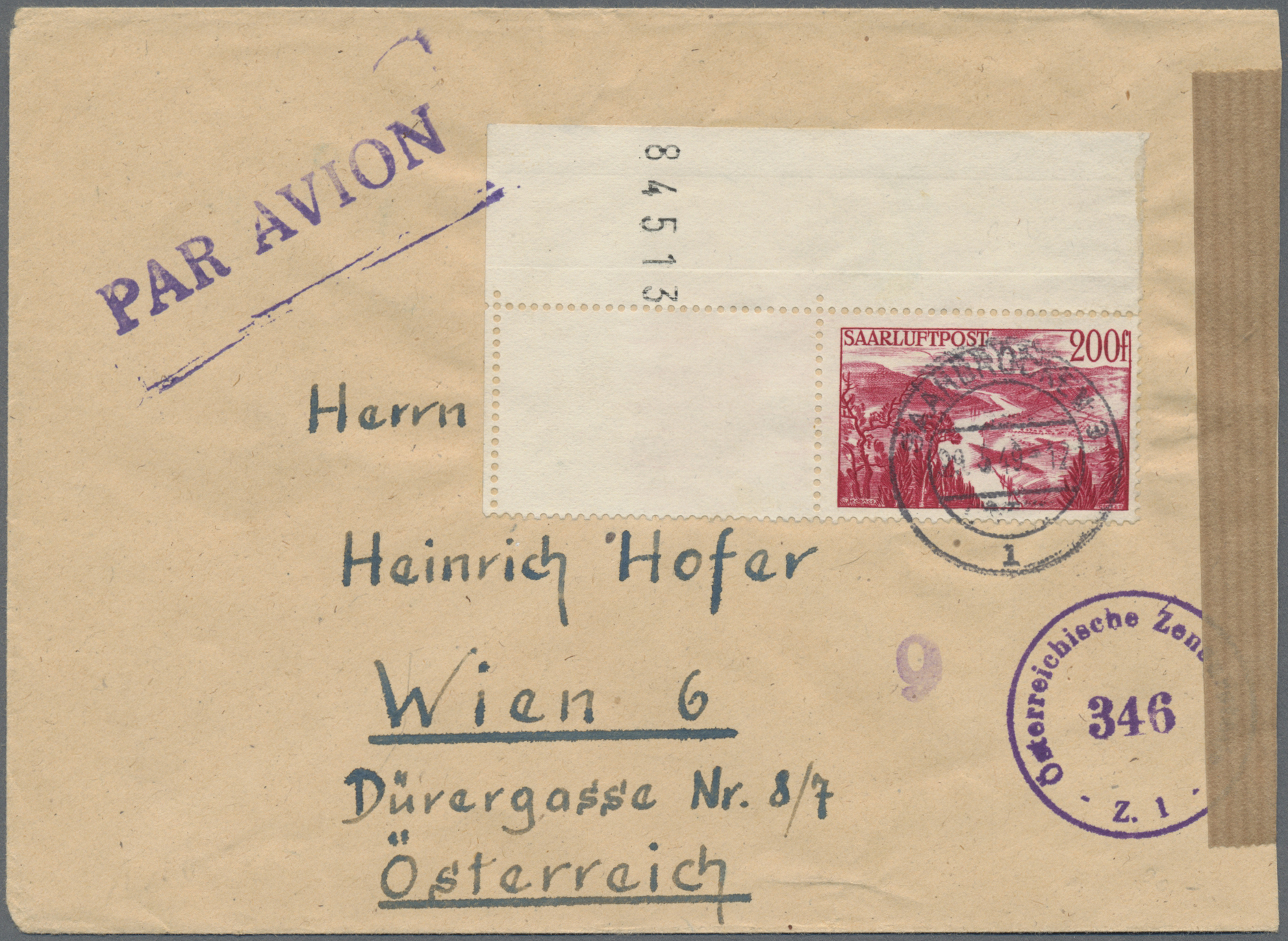 Lot 28863 - Deutsche Abstimmungsgebiete: Saargebiet  -  Auktionshaus Christoph Gärtner GmbH & Co. KG Sale #46 Gollcetions Germany - including the suplement