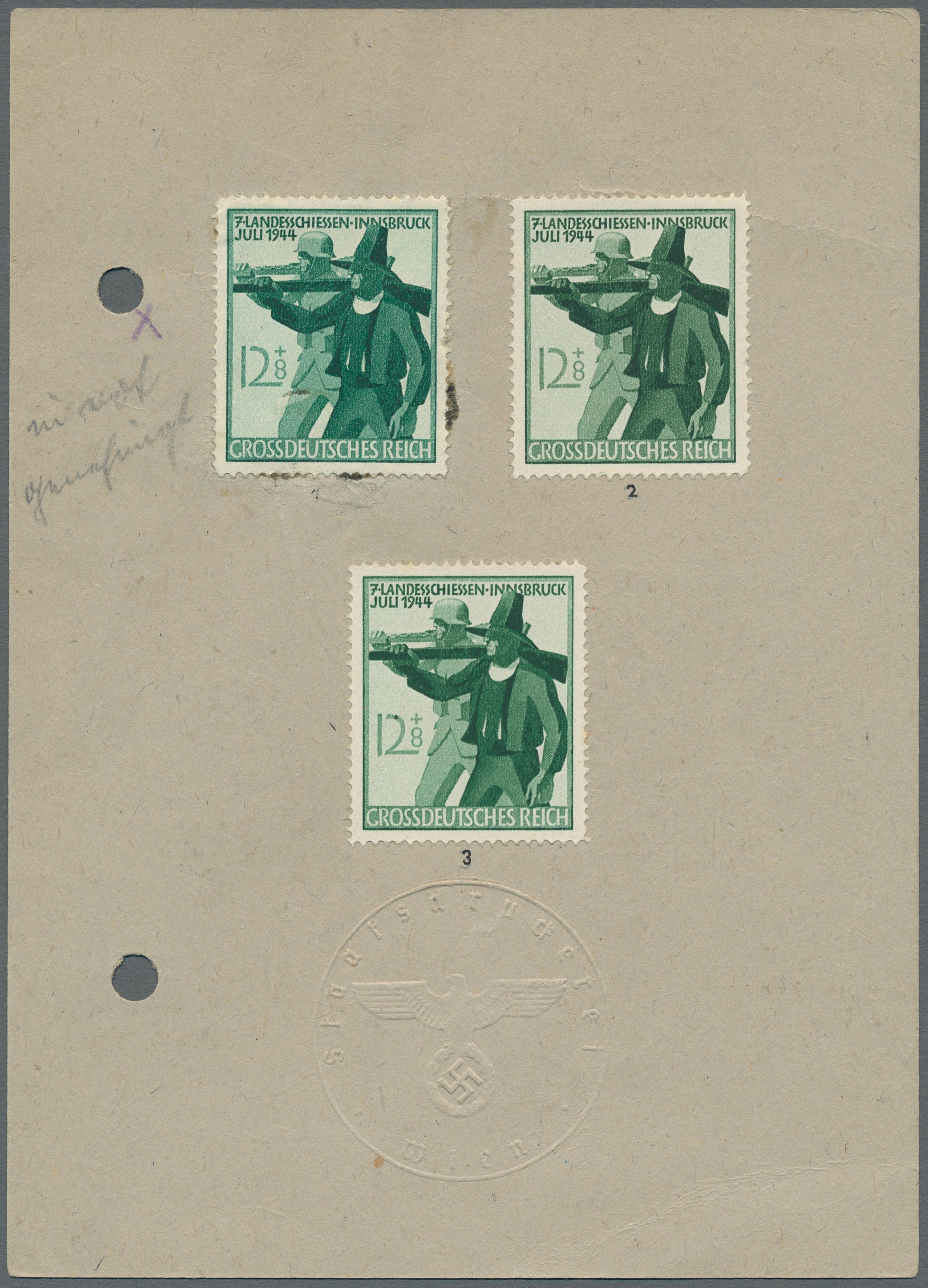 Lot 15980 - Deutsches Reich - 3. Reich  -  Auktionshaus Christoph Gärtner GmbH & Co. KG Sale #47 Single lots: Germany, Picture Postcards