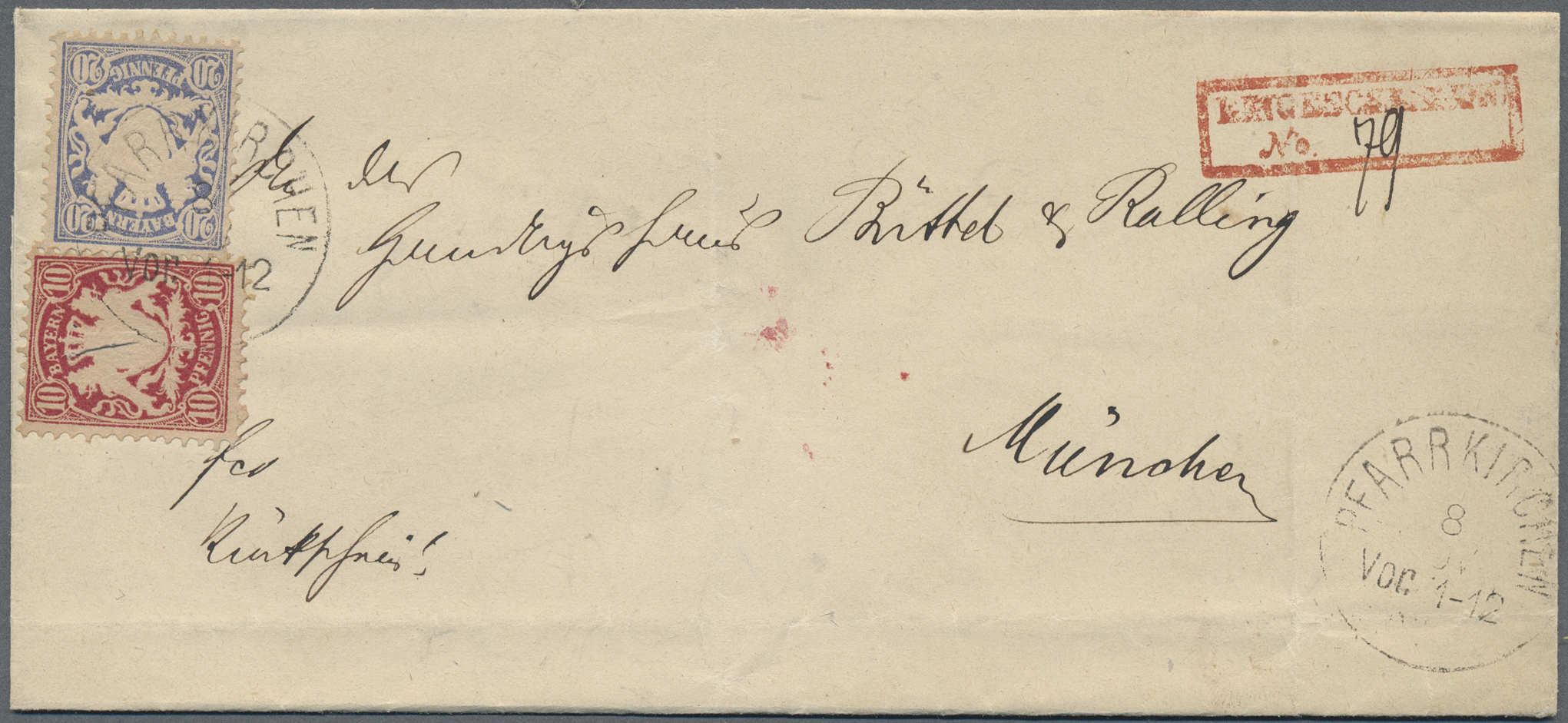 Lot 36215 - Bayern - Ortsstempel  -  Auktionshaus Christoph Gärtner GmbH & Co. KG Sale #44 Collections Germany