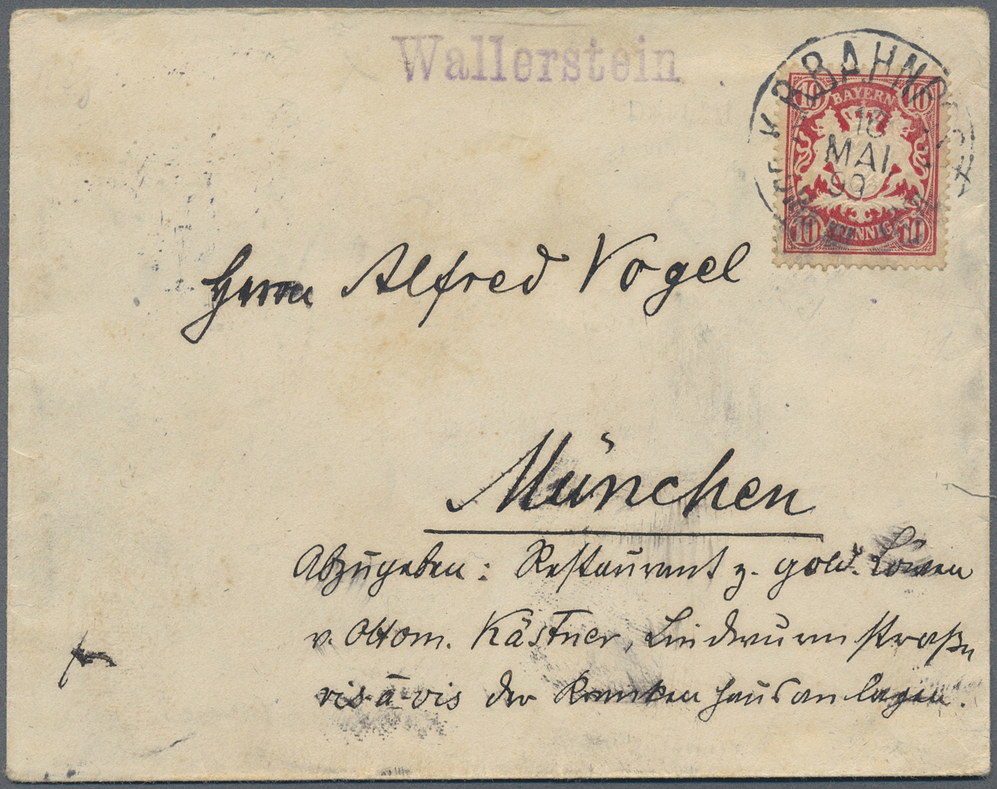 Lot 36213 - Bayern - Ortsstempel  -  Auktionshaus Christoph Gärtner GmbH & Co. KG Sale #44 Collections Germany
