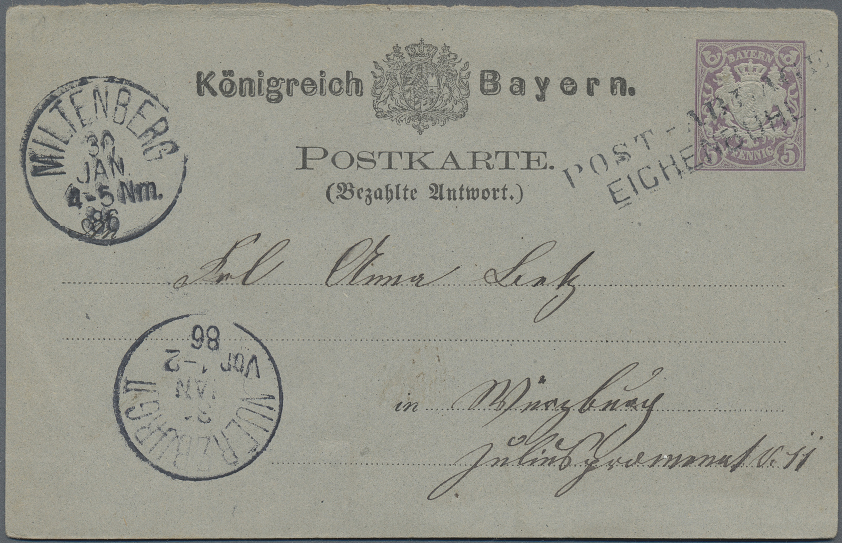 Lot 36219 - Bayern - Ortsstempel  -  Auktionshaus Christoph Gärtner GmbH & Co. KG Sale #44 Collections Germany