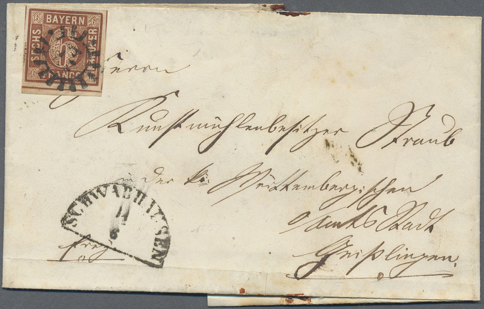Lot 36216 - Bayern - Ortsstempel  -  Auktionshaus Christoph Gärtner GmbH & Co. KG Sale #44 Collections Germany
