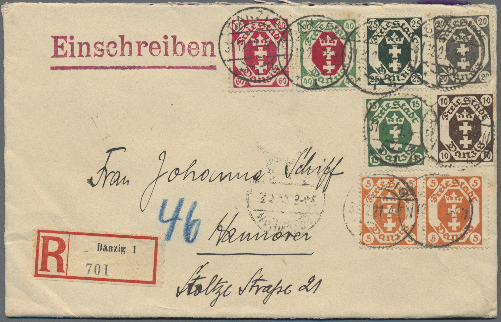 Lot 14790 - danzig  -  Auktionshaus Christoph Gärtner GmbH & Co. KG 51th Auction - Day 5
