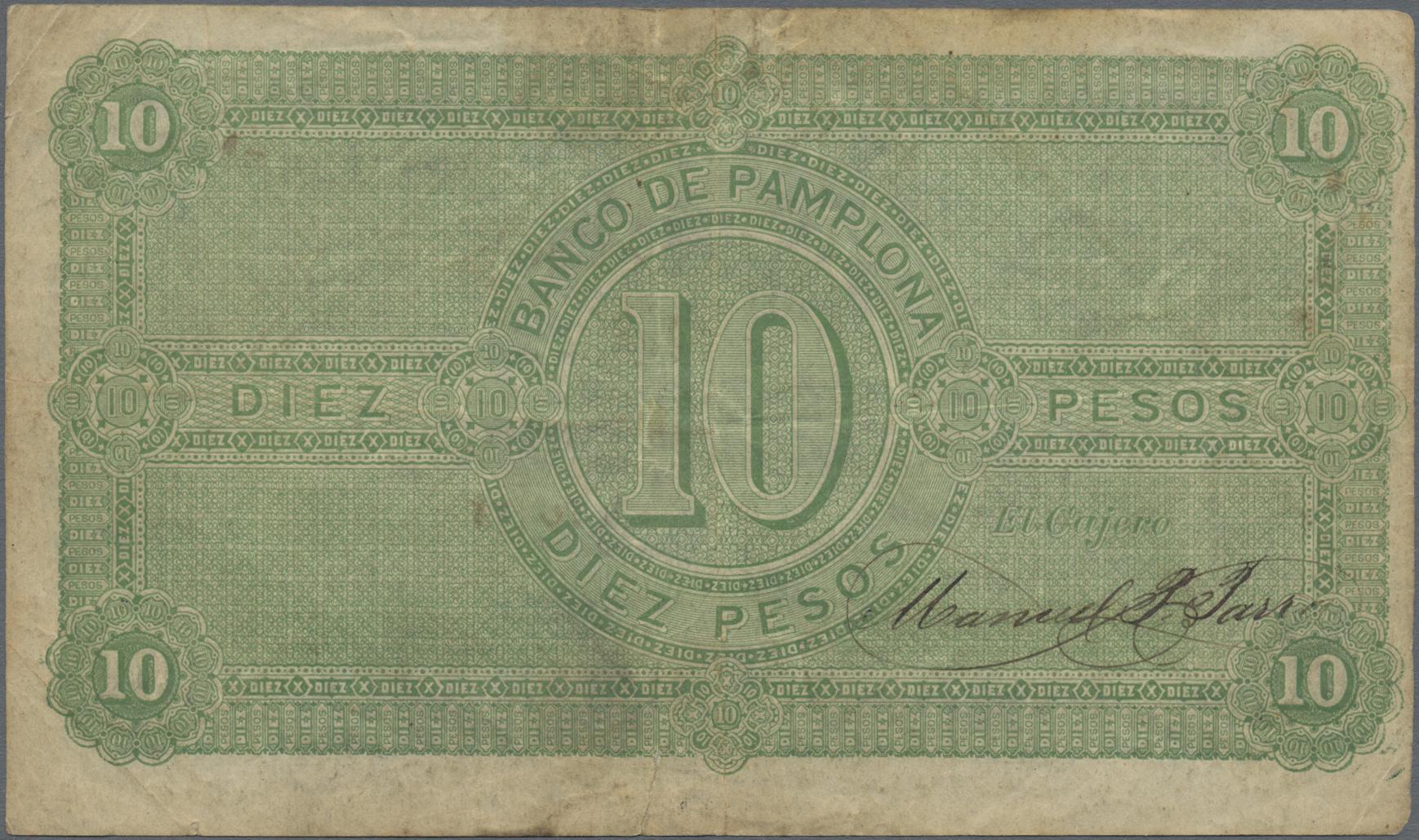 Lot 00149 - Colombia / Kolumbien | Banknoten  -  Auktionshaus Christoph Gärtner GmbH & Co. KG Sale #48 The Banknotes