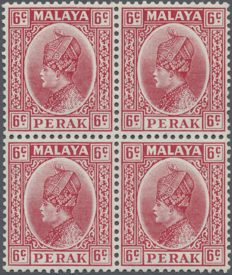 Lot 14018 - Malaiische Staaten - Perak  -  Auktionshaus Christoph Gärtner GmbH & Co. KG Sale #48 collections Overseas  Airmail / Ship mail & Thematics