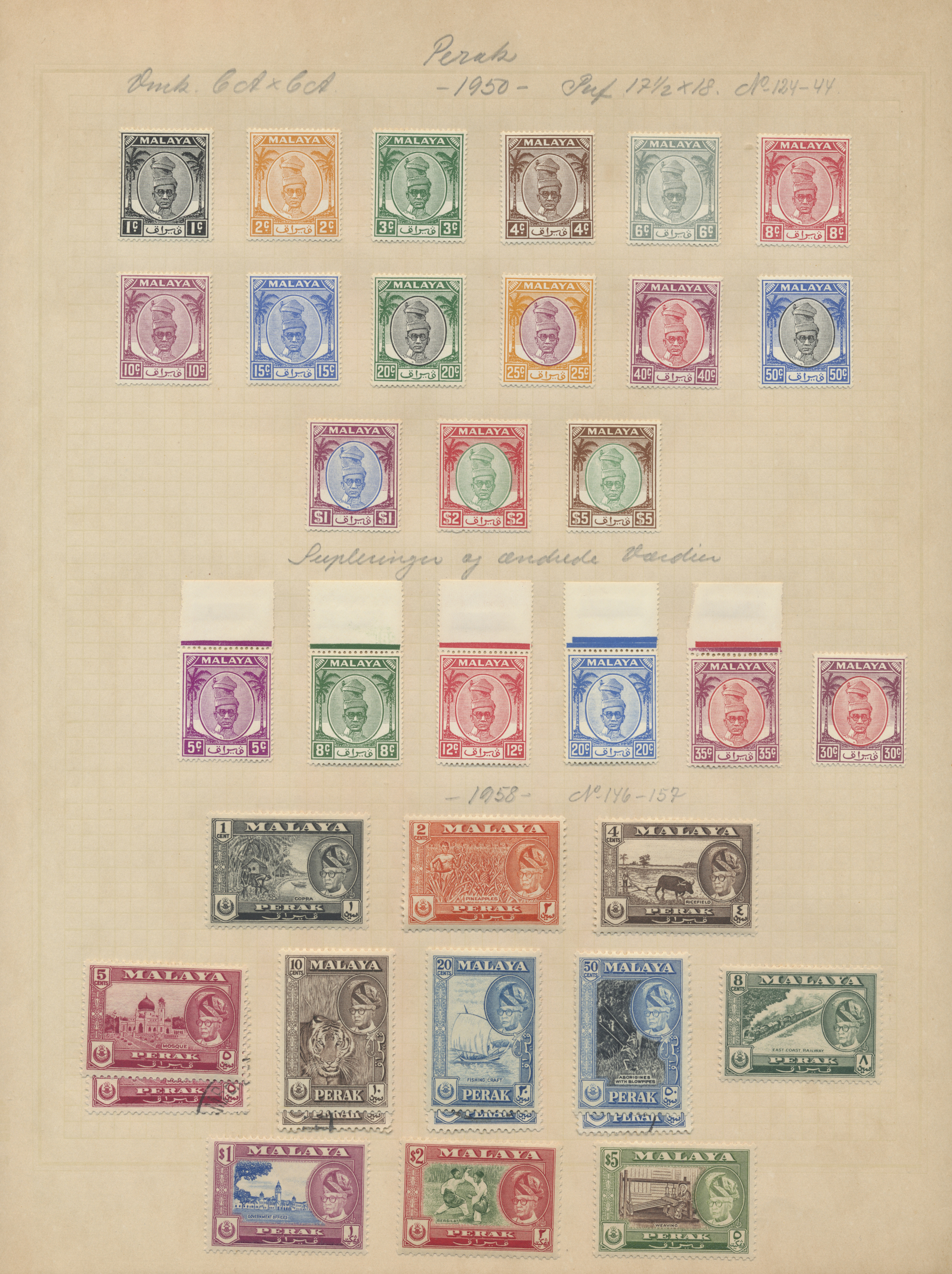 Lot 14015 - Malaiische Staaten - Perak  -  Auktionshaus Christoph Gärtner GmbH & Co. KG Sale #48 collections Overseas  Airmail / Ship mail & Thematics