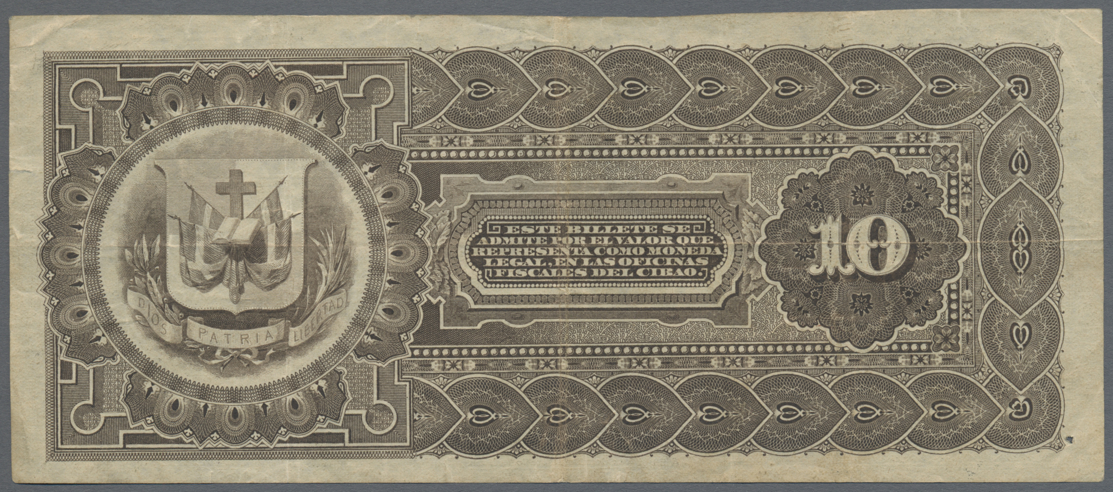 Lot 8355 - Dominican Republic / Dominikanische Republik banknoten -  Auktionshaus Christoph Gärtner GmbH & Co. KG Sale #47 Banknotes Worldwide & Germany, Numismatics