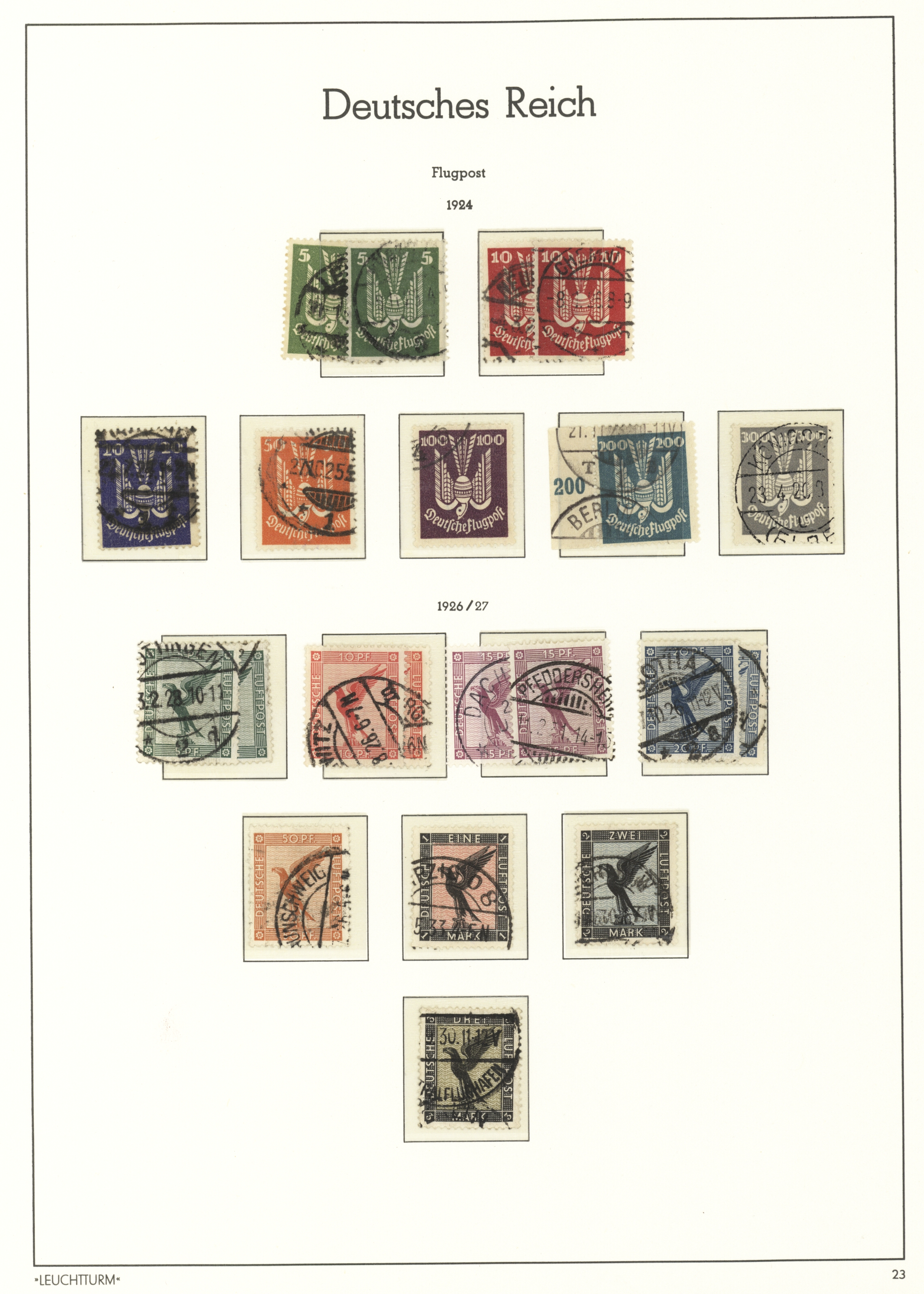 Lot 36450 - Deutsches Reich  -  Auktionshaus Christoph Gärtner GmbH & Co. KG Sale #44 Collections Germany