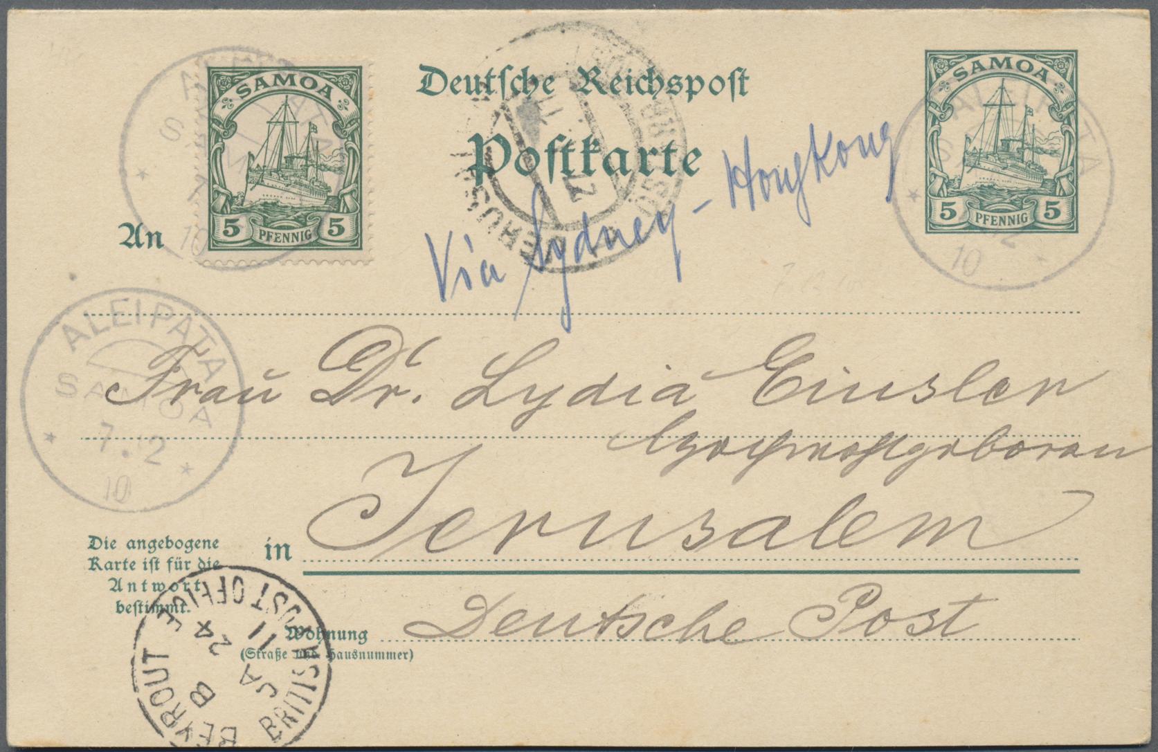 Lot 36954 - Deutsche Kolonien - Samoa  -  Auktionshaus Christoph Gärtner GmbH & Co. KG Sale #44 Collections Germany