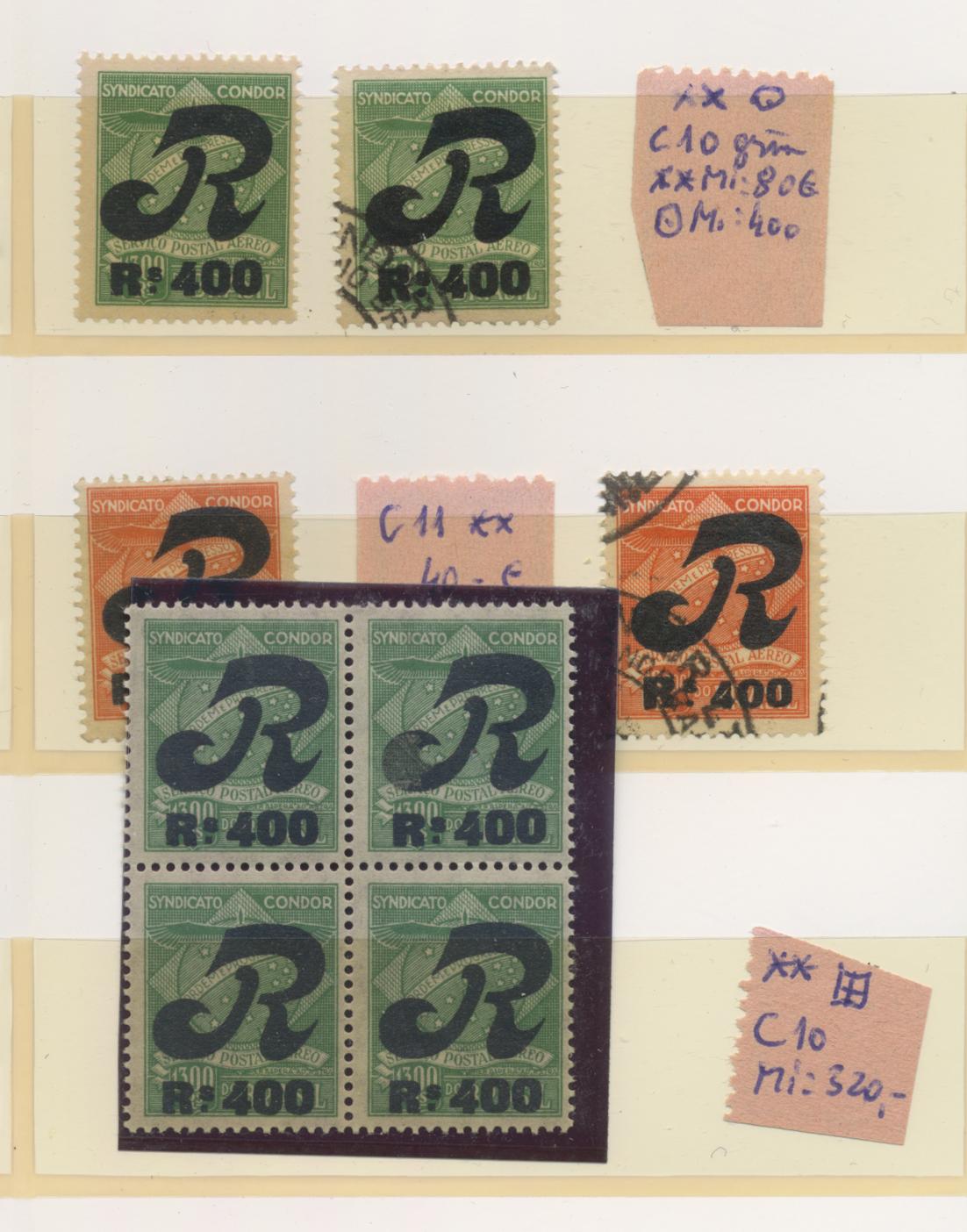 Lot 09241 - Brasilien - Ausgaben der Privatfluggesellschaften  -  Auktionshaus Christoph Gärtner GmbH & Co. KG 51th Auction - Day 4