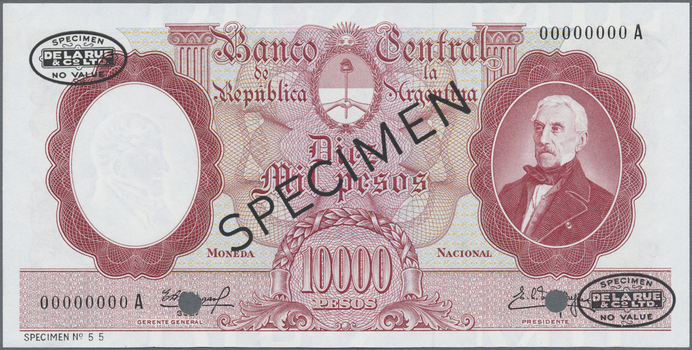 Lot 00016 - Argentina / Argentinien | Banknoten  -  Auktionshaus Christoph Gärtner GmbH & Co. KG Sale #48 The Banknotes