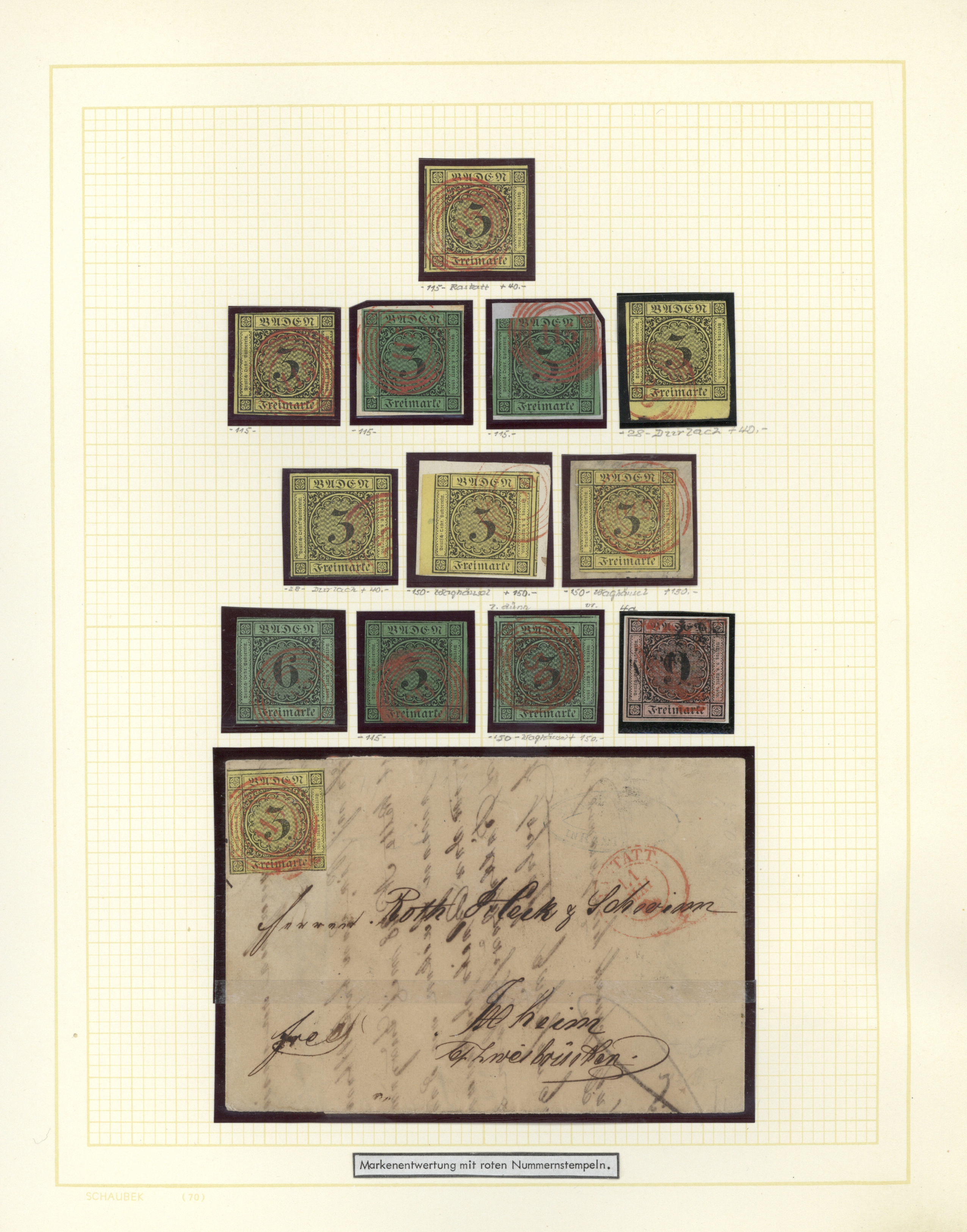 Lot 36224 - Baden - Marken und Briefe  -  Auktionshaus Christoph Gärtner GmbH & Co. KG Collections Germany,  Collections Supplement, Surprise boxes #39 Day 7