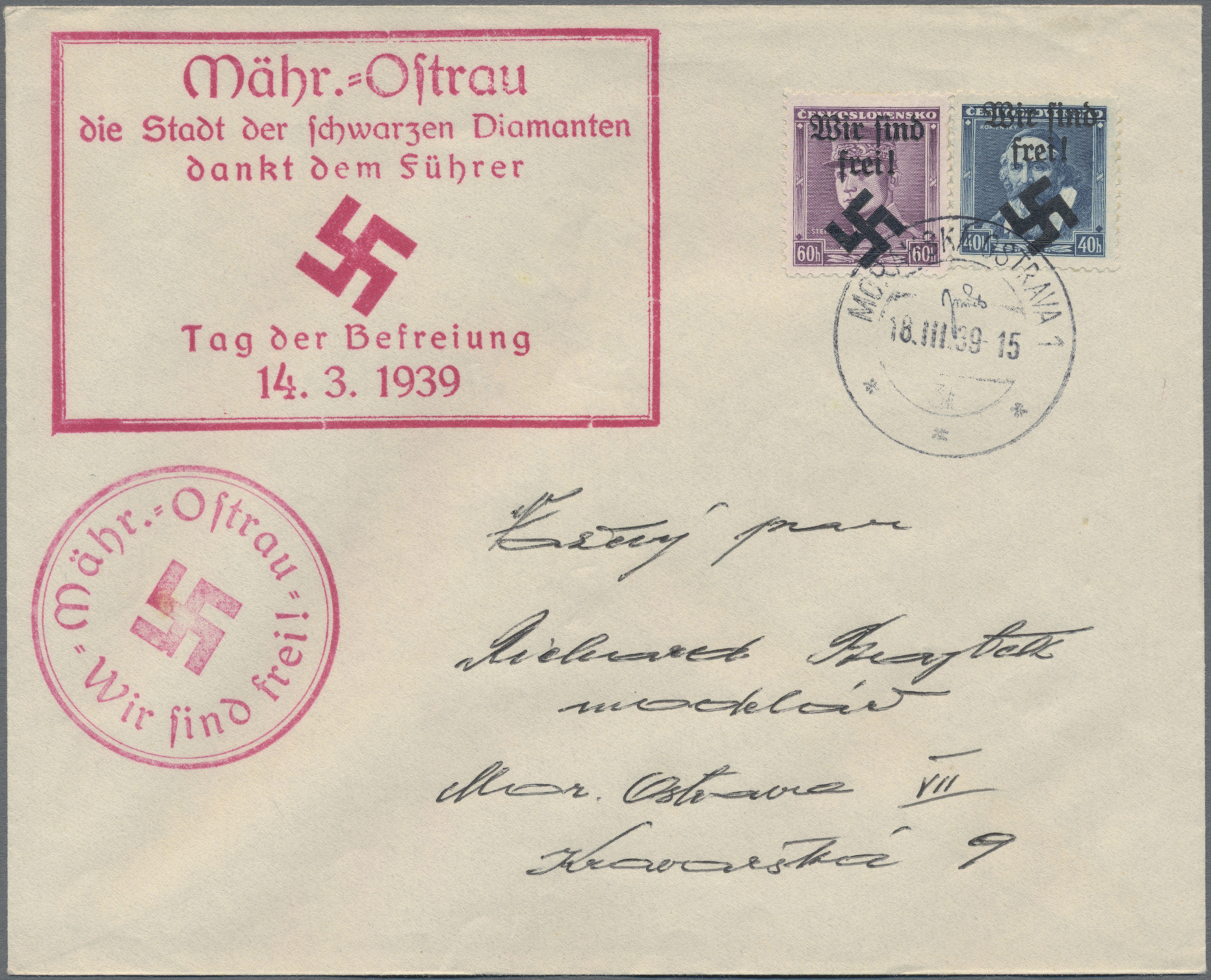 Lot 23705 - sudetenland  -  Auktionshaus Christoph Gärtner GmbH & Co. KG 50th Auction Anniversary Auction - Day 7