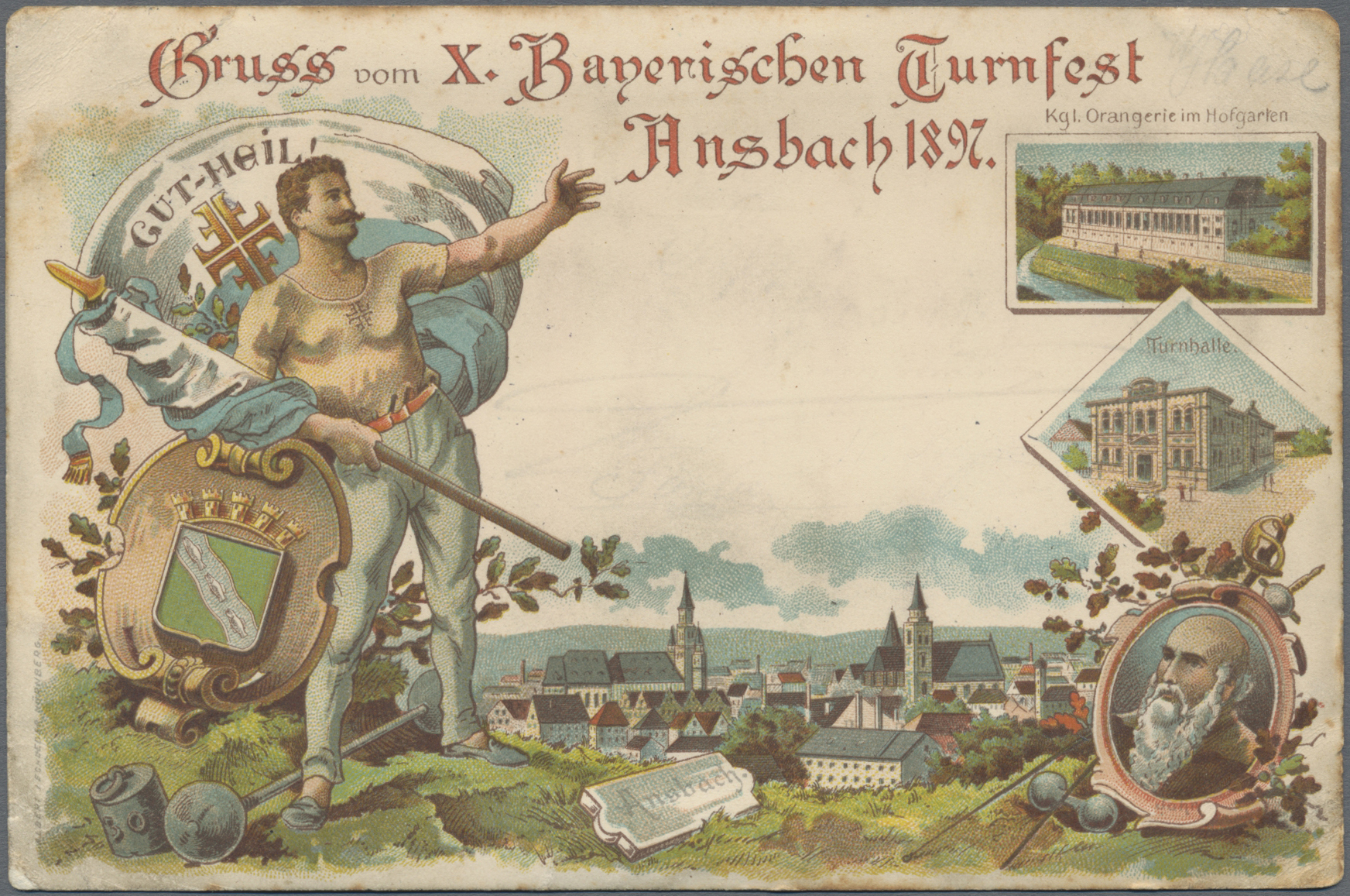 Lot 04393 - Ansichtskarten: Bayern  -  Auktionshaus Christoph Gärtner GmbH & Co. KG Sale #48 The Coins & The Picture Post Cards
