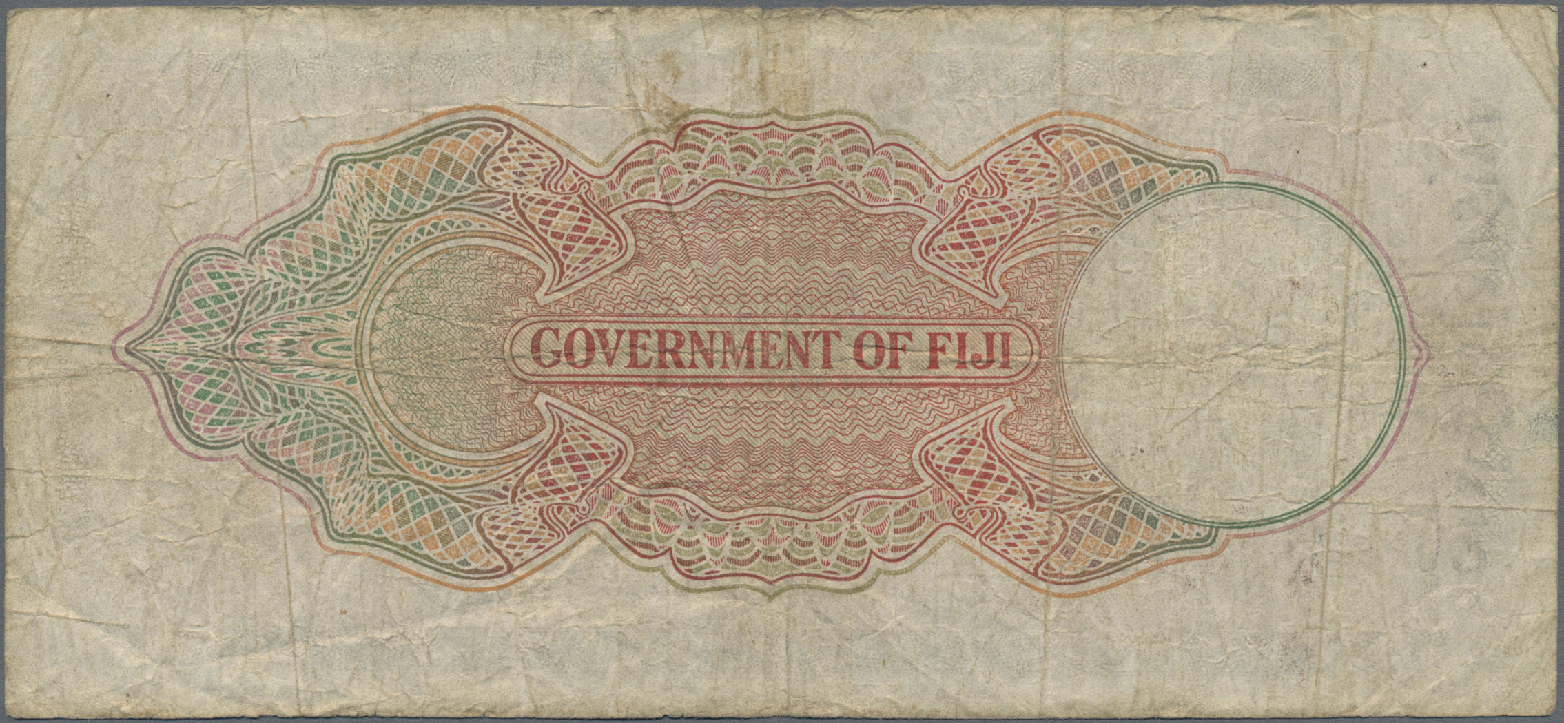 Lot 00242 - Fiji | Banknoten  -  Auktionshaus Christoph Gärtner GmbH & Co. KG Sale #48 The Banknotes