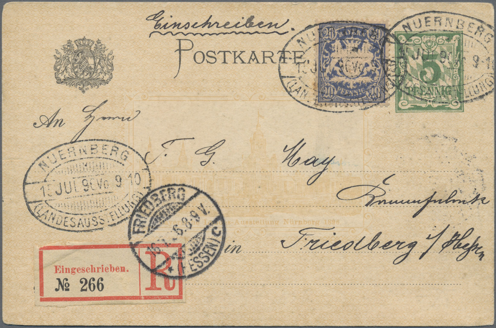 Lot 36184 - Bayern - Marken und Briefe  -  Auktionshaus Christoph Gärtner GmbH & Co. KG Sale #44 Collections Germany