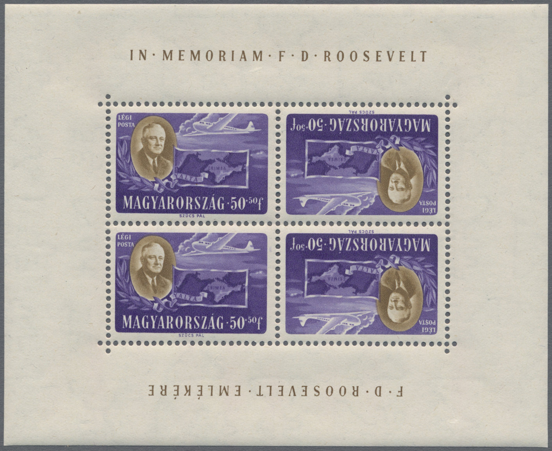 Lot 10105 - ungarn  -  Auktionshaus Christoph Gärtner GmbH & Co. KG Sale #48 The Single Lots Philatelie