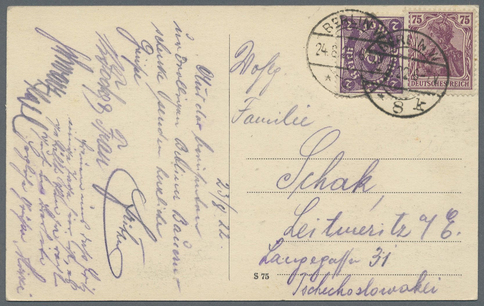 Lot 36810 - Deutsches Reich - Inflation  -  Auktionshaus Christoph Gärtner GmbH & Co. KG Collections Germany,  Collections Supplement, Surprise boxes #39 Day 7