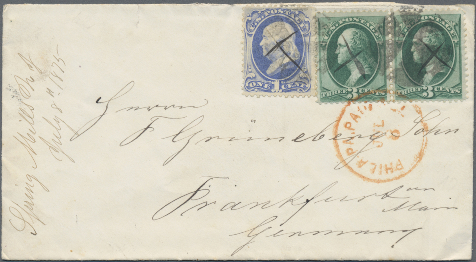 Lot 20152 - vereinigte staaten von amerika  -  Auktionshaus Christoph Gärtner GmbH & Co. KG Sale #47 Collections: Overseas, Thematics, Europe