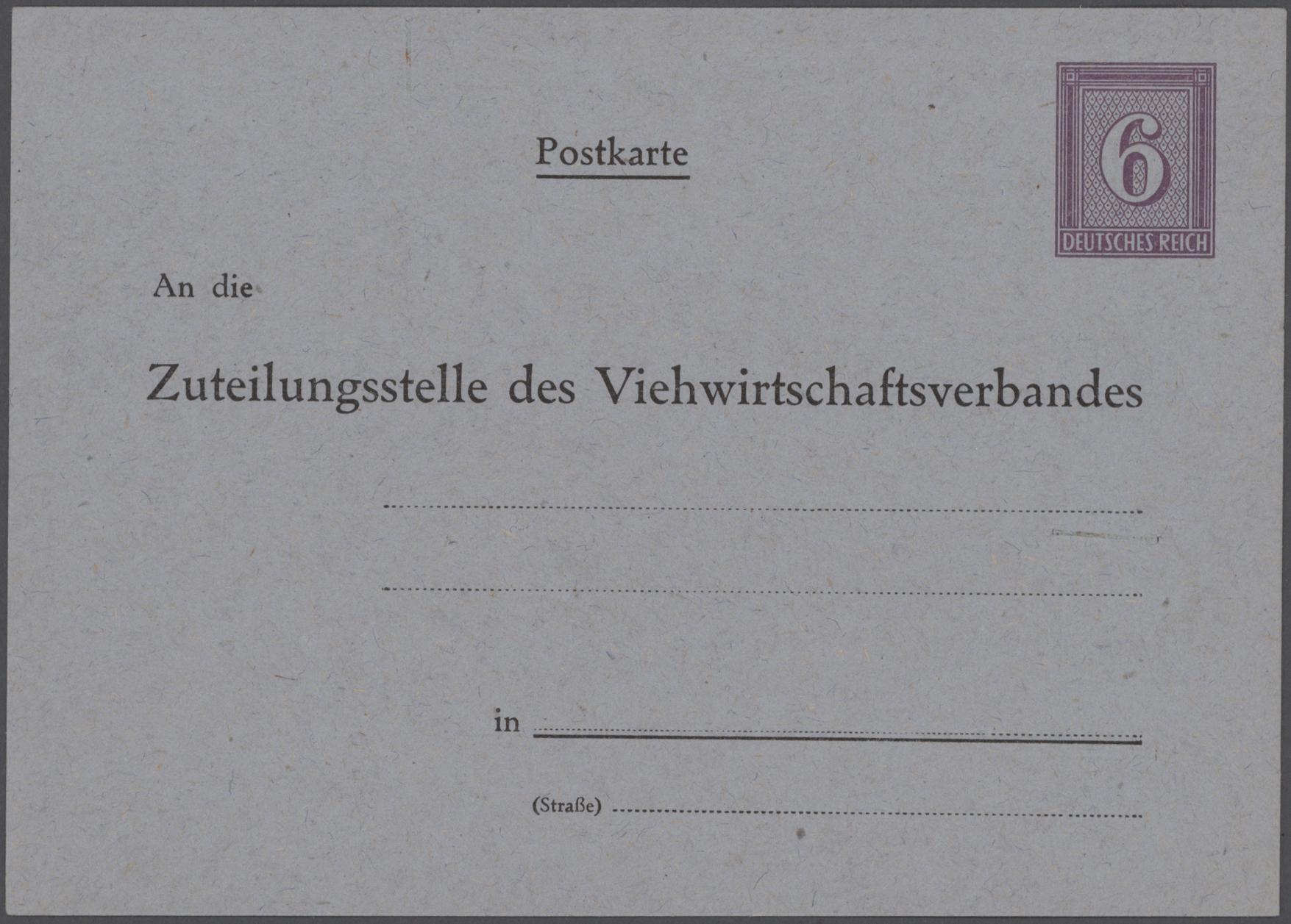Lot 23545 - Deutsches Reich - Privatganzsachen  -  Auktionshaus Christoph Gärtner GmbH & Co. KG Sale #49 Collections Overseas, Thematics, Europe, Germany/Estates