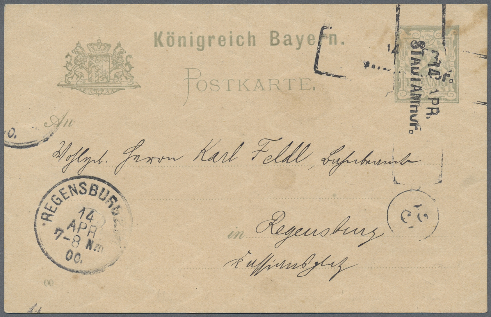 Lot 36161 - Heimat: Bayern  -  Auktionshaus Christoph Gärtner GmbH & Co. KG Collections Germany,  Collections Supplement, Surprise boxes #39 Day 7