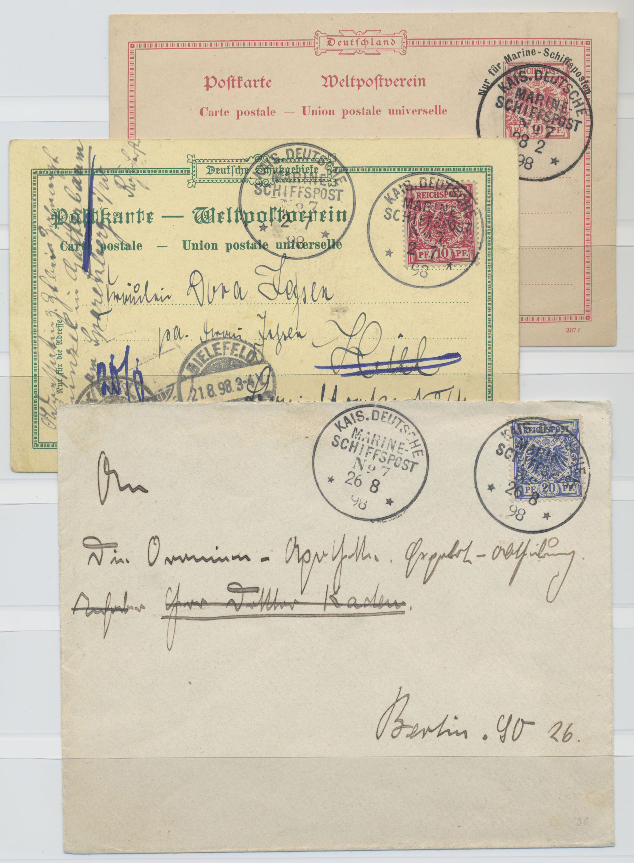 Lot 36936 - deutsch-neuguinea  -  Auktionshaus Christoph Gärtner GmbH & Co. KG Sale #44 Collections Germany