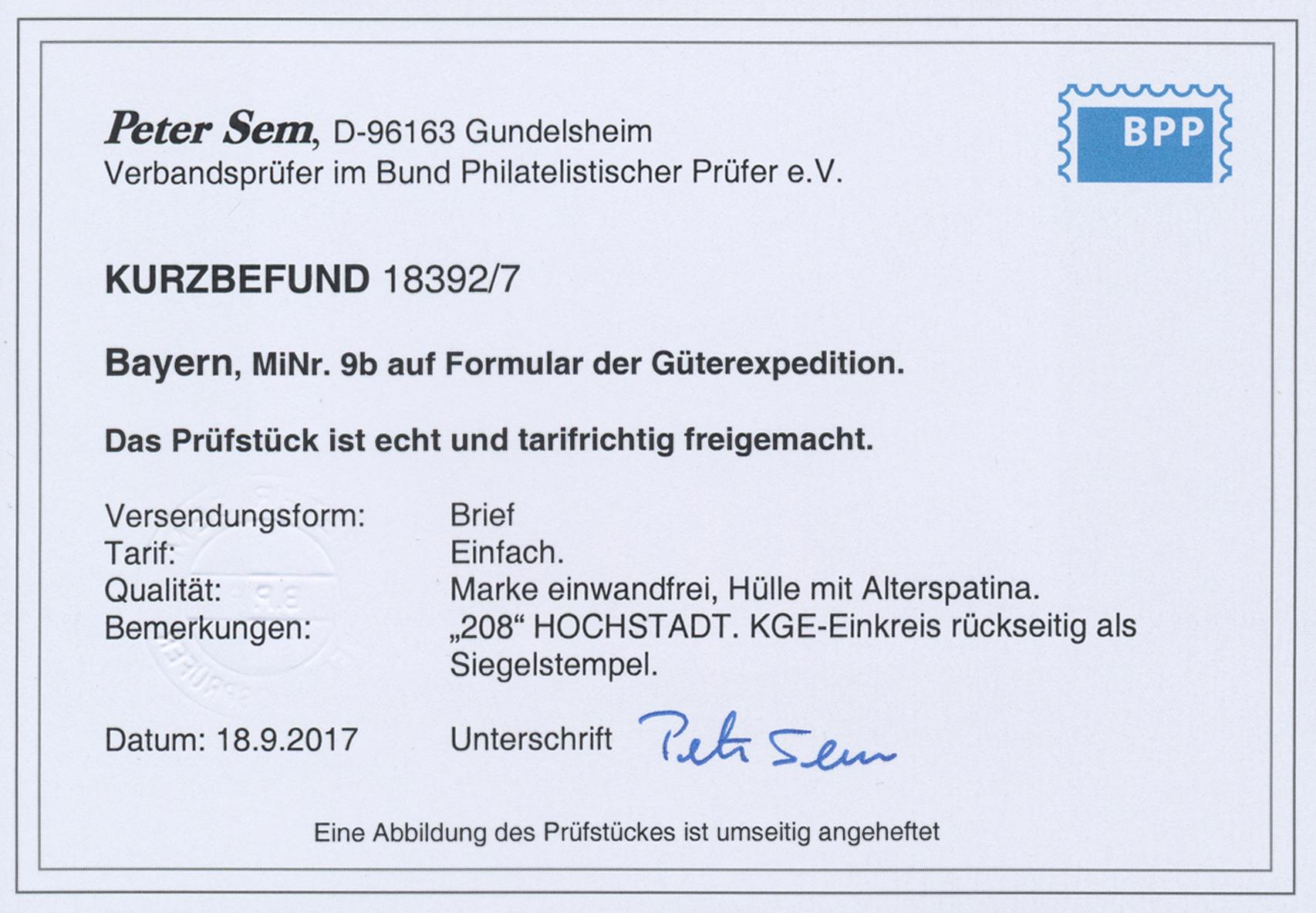 Coin Auction Bayern Marken Und Briefe Auction 40 Germany