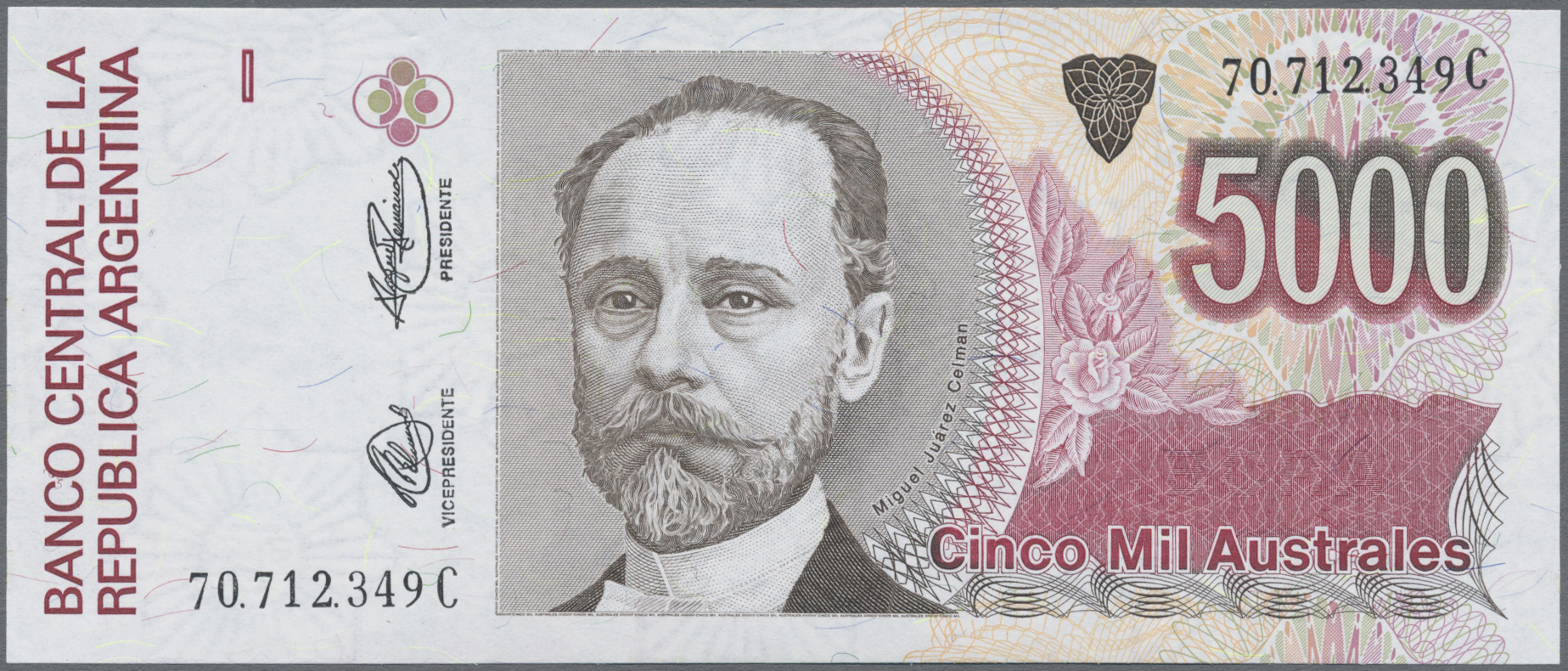 Lot 00354 - Argentina / Argentinien | Banknoten  -  Auktionshaus Christoph Gärtner GmbH & Co. KG 51th Auction - Day 1