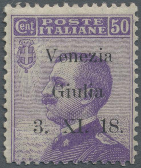 Lot 17127 - Italienische Besetzung 1918/23 - Julisch-Venetien  -  Auktionshaus Christoph Gärtner GmbH & Co. KG Single lots Philately Overseas & Europe. Auction #39 Day 4