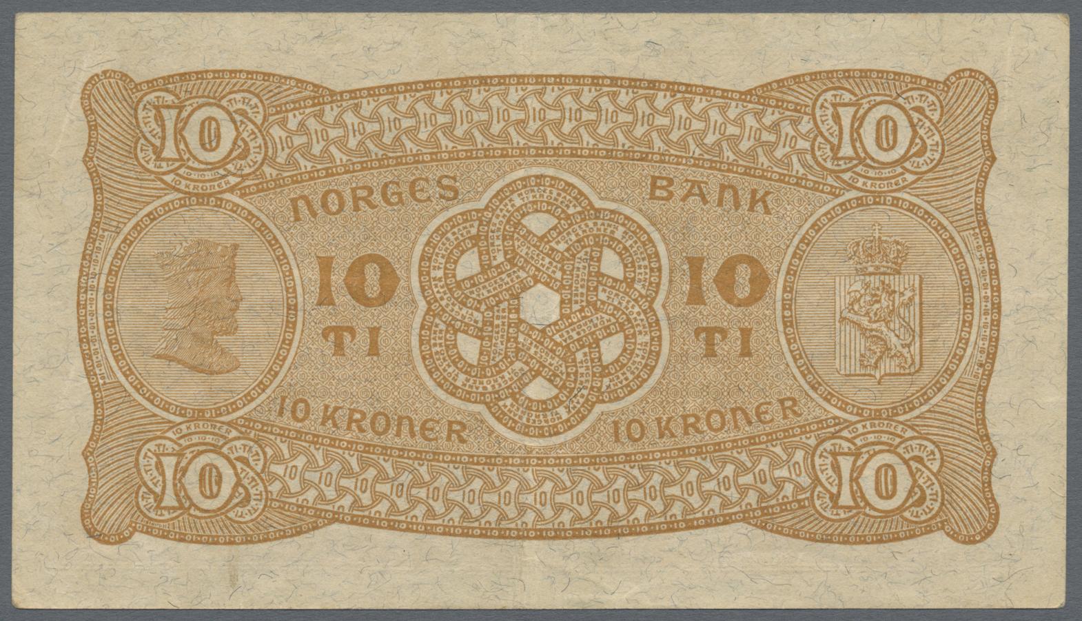 Lot 00570 - Norway / Norwegen | Banknoten  -  Auktionshaus Christoph Gärtner GmbH & Co. KG Sale #48 The Banknotes