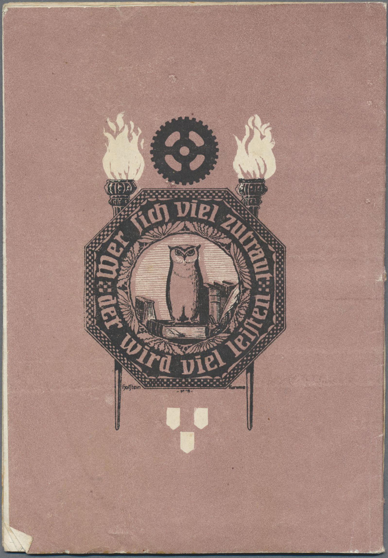 Lot 22488 - Deutsche Kolonien - Kiautschou - Kriegsgefangenenpost  -  Auktionshaus Christoph Gärtner GmbH & Co. KG Single lots Germany + Picture Postcards. Auction #39 Day 5