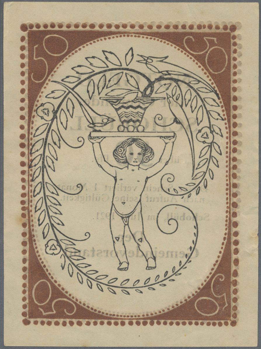 Lot 3292 - Deutschland - Notgeld - Schleswig-Holstein | Banknoten  -  Auktionshaus Christoph Gärtner GmbH & Co. KG Banknotes & Coins Auction #39 Day 2