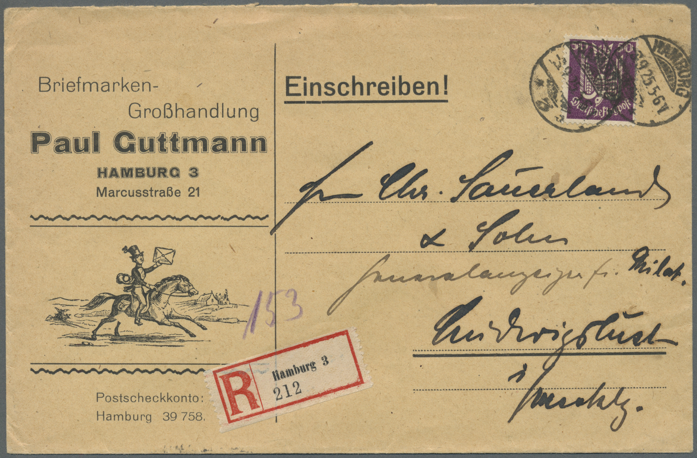 Stamp Auction Danzig Single Lots Germany Picture Postcards