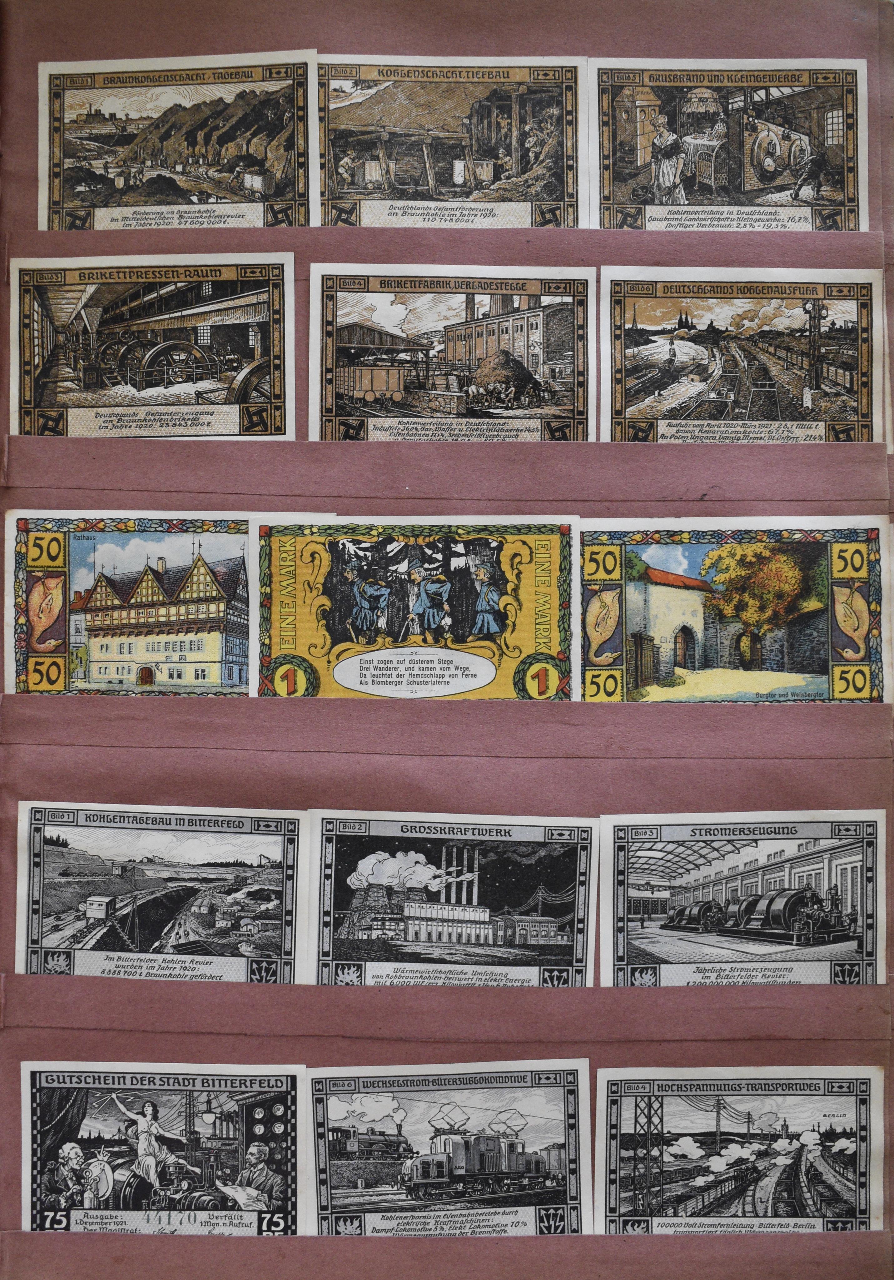 Lot 9980 - deutschland - notgeld banknoten -  Auktionshaus Christoph Gärtner GmbH & Co. KG Sale #47 Banknotes Worldwide & Germany, Numismatics
