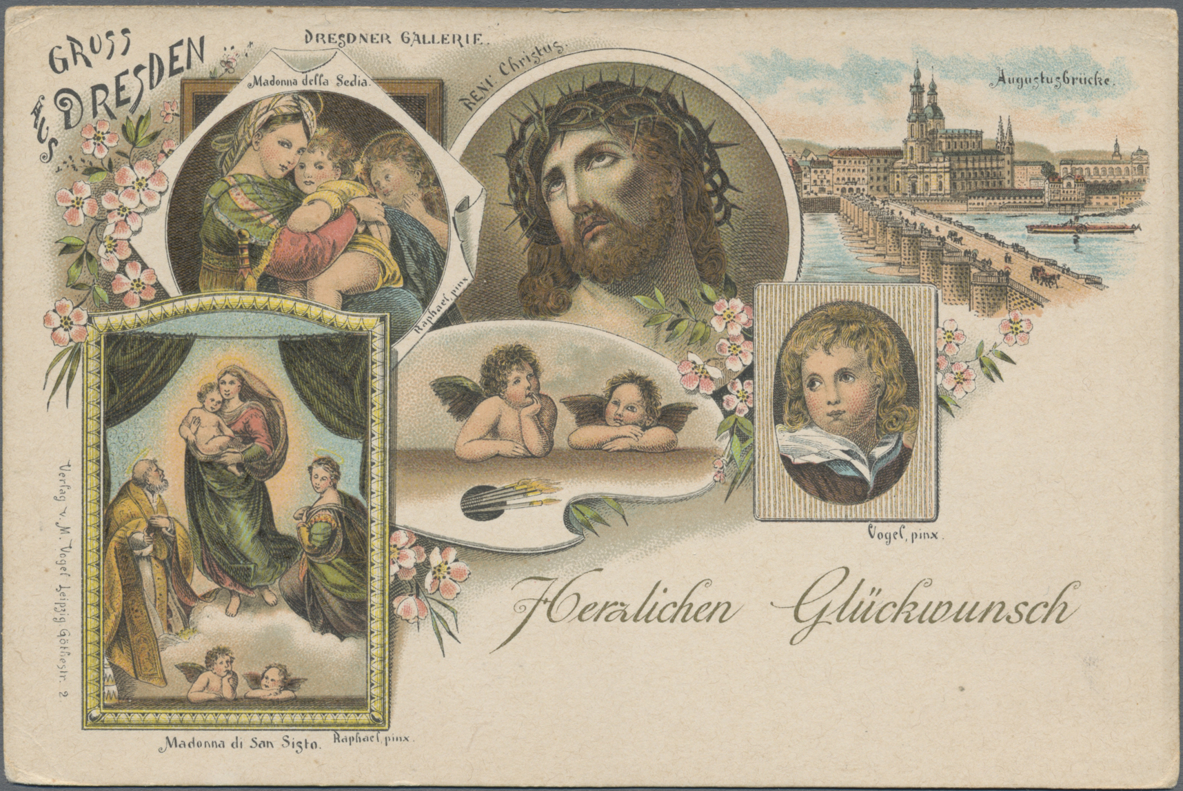 Lot 04590 - Ansichtskarten: Sachsen  -  Auktionshaus Christoph Gärtner GmbH & Co. KG Sale #48 The Coins & The Picture Post Cards