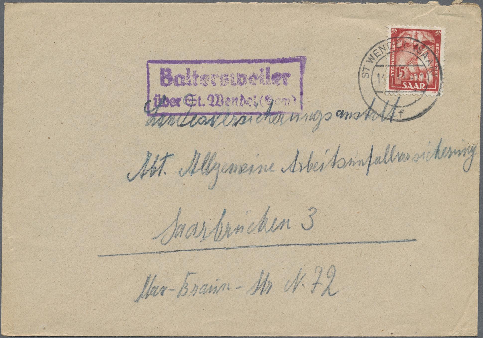 Lot 28858 - Deutsche Abstimmungsgebiete: Saargebiet  -  Auktionshaus Christoph Gärtner GmbH & Co. KG Sale #46 Gollcetions Germany - including the suplement